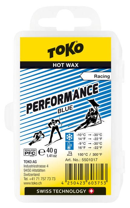 Toko Мазь скольжения TOKO Performance blue 40g, -10С/-30C недорого