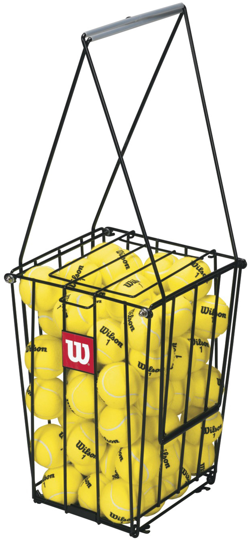 Wilson Корзина для сбора мячей Wilson, размер Без размера wilson набор мячей для большого тенниса wilson us open x3 размер без размера