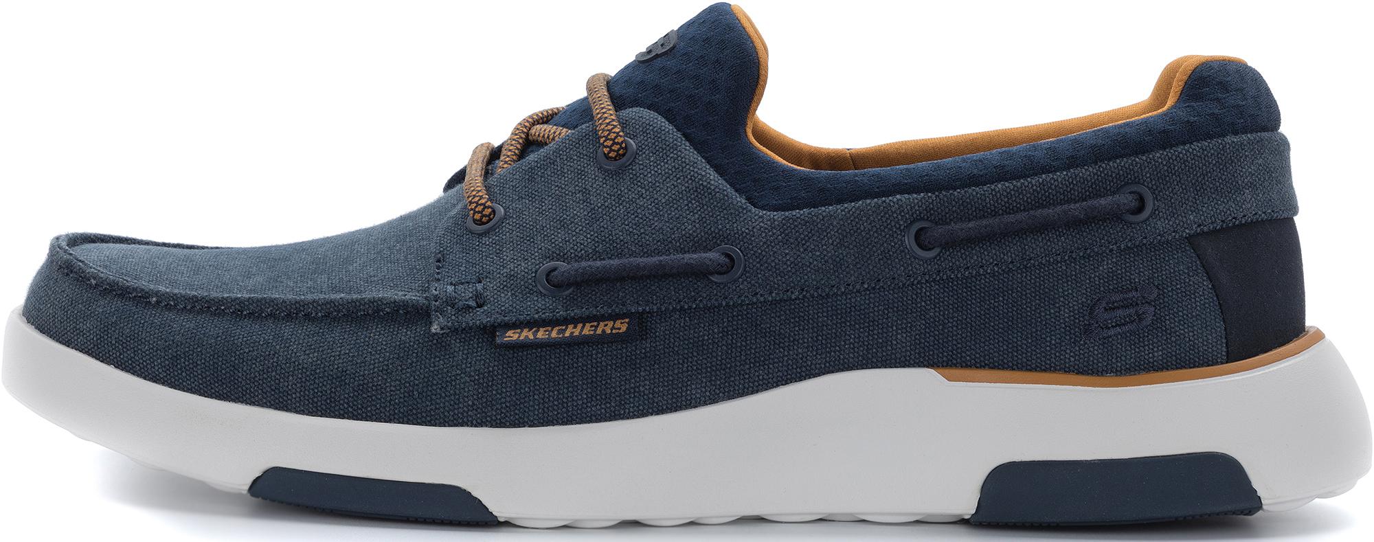 цена Skechers Полуботинки мужские Skechers Bellinger-Garmo, размер 41 онлайн в 2017 году
