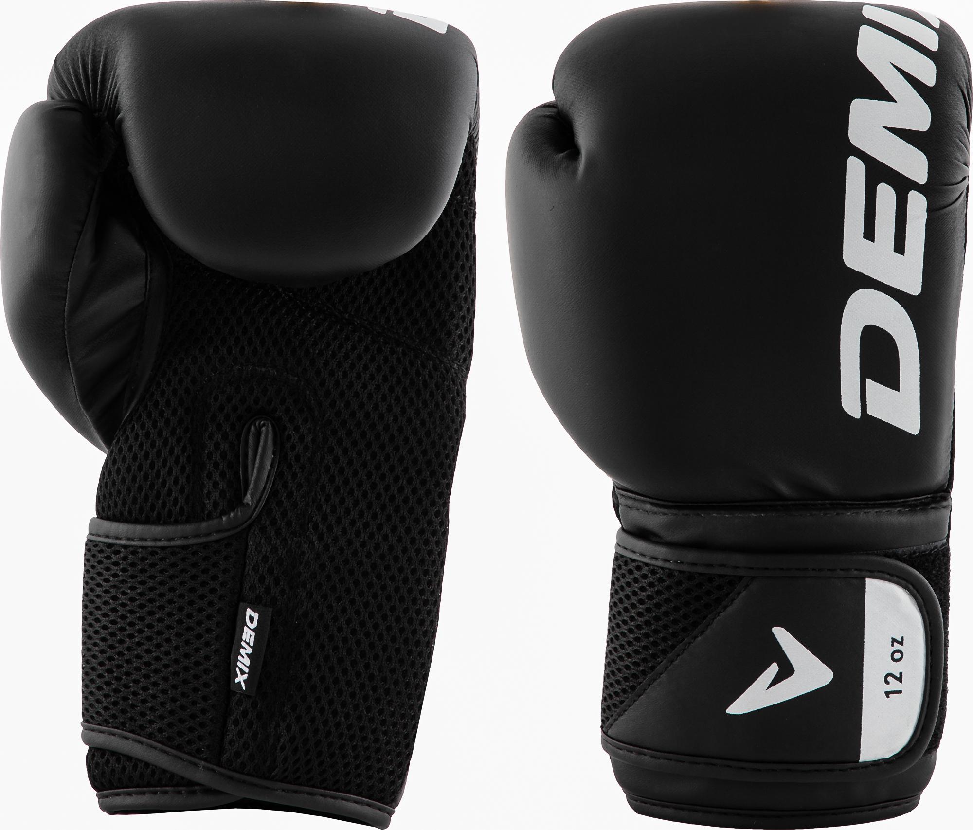 Demix Перчатки боксерские Demix, размер 10-16 боксерские перчатки venum challenger 2 0 черный белый вес 10 унций