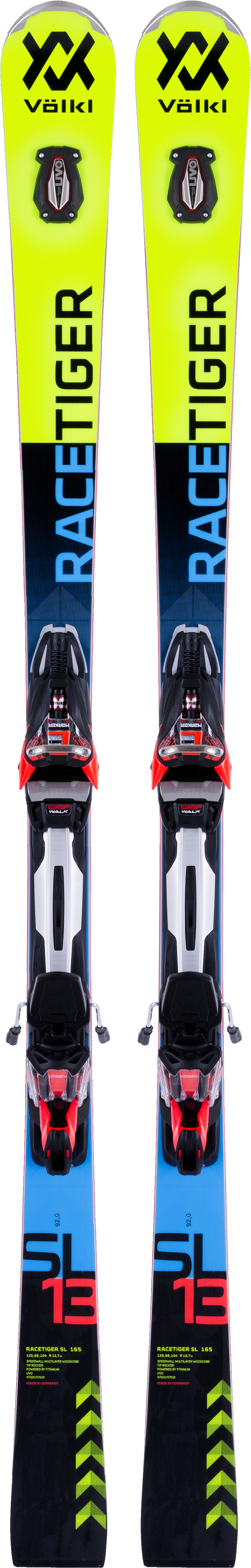 Volkl Volkl Racetiger SL + rMotion2 12 GW Race (17/18) volkl volkl flair 76 vmotion 10 gw lady 17 18