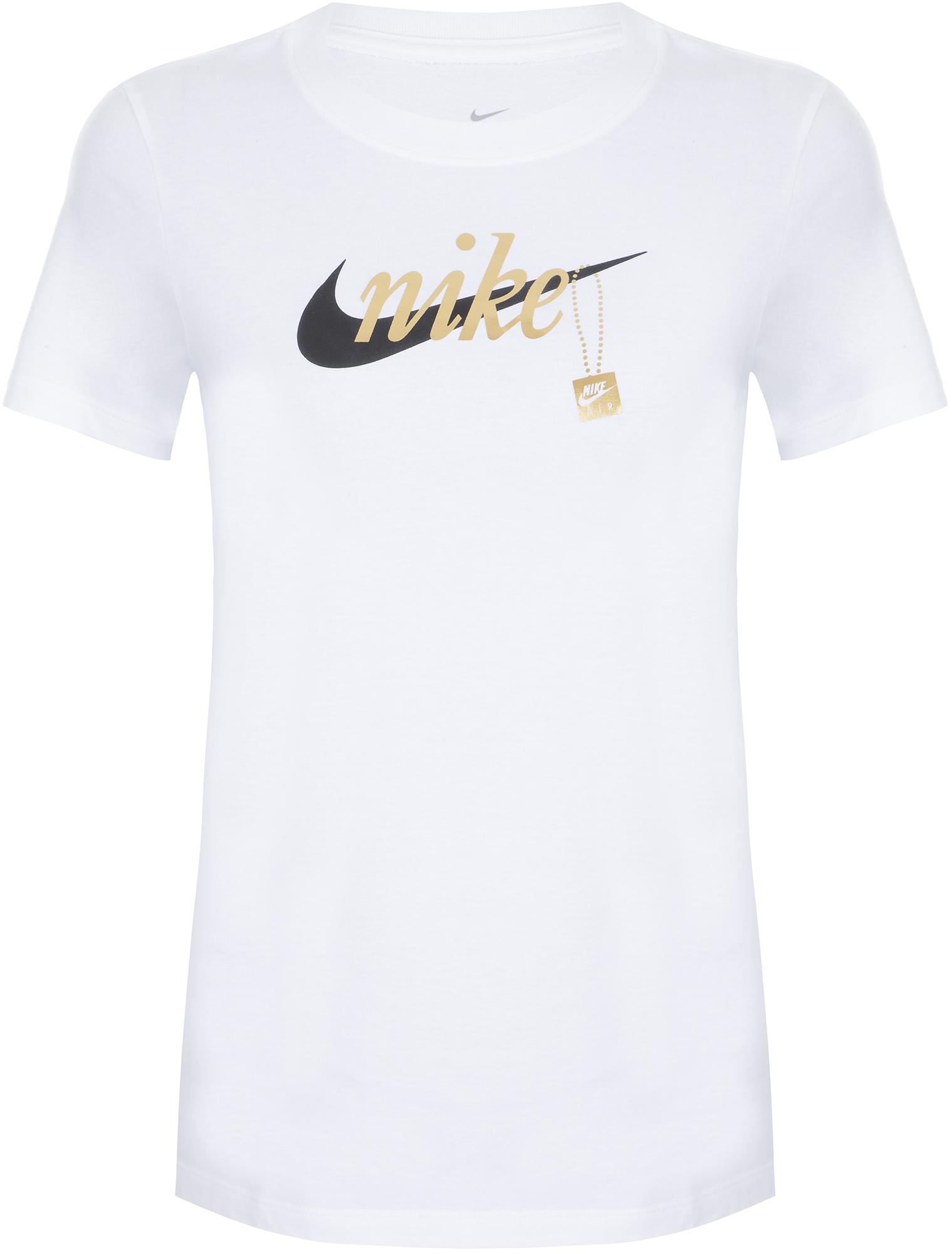 Nike Футболка женская Nike, размер 48-50 nike майка женская nike размер 48 50