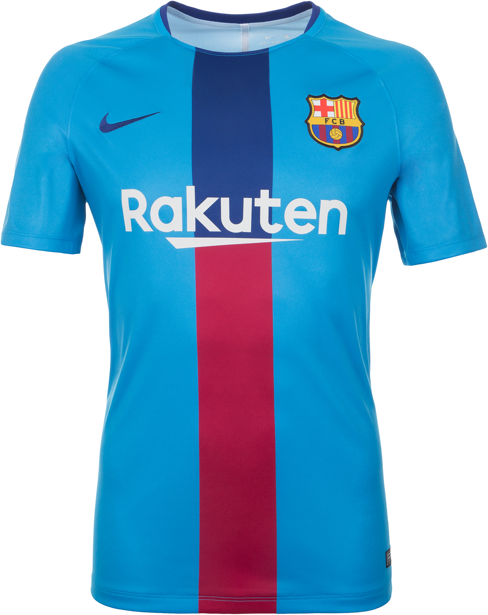 Nike Футболка мужская Nike Dry FC Barcelona, размер 52-54 цена 2017