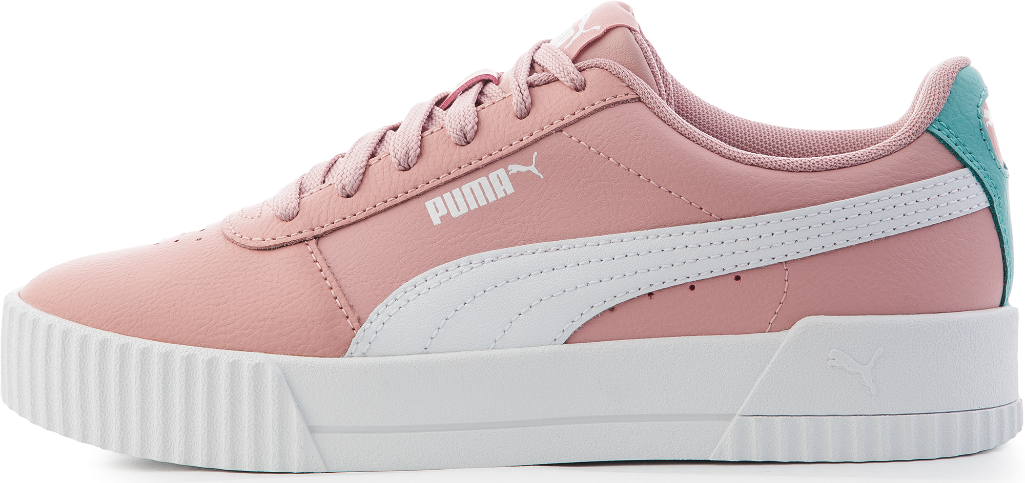 Puma Кеды для девочек Puma Carina Jr, размер 35