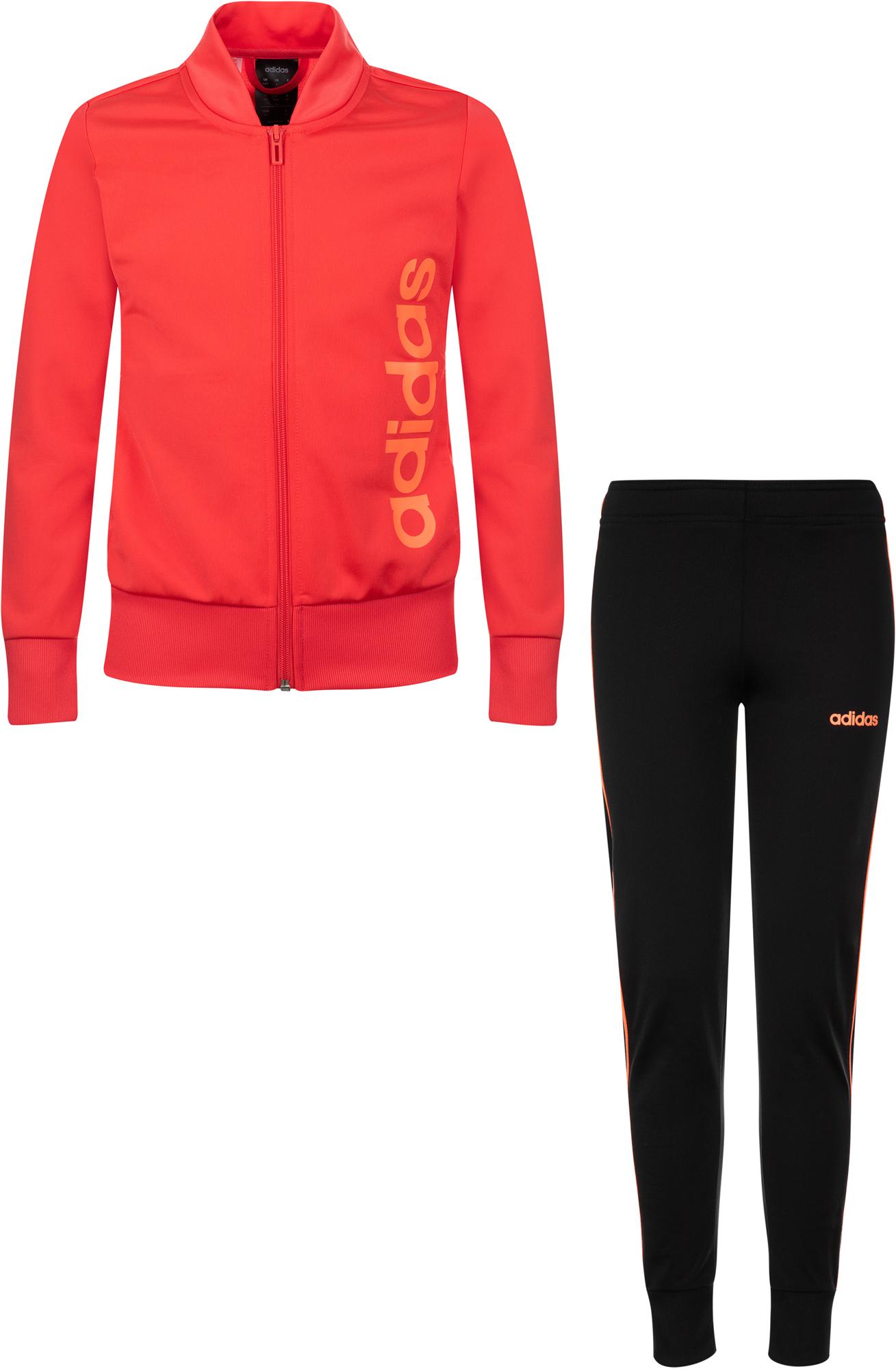Adidas Костюм для девочек Adidas Track, размер 128