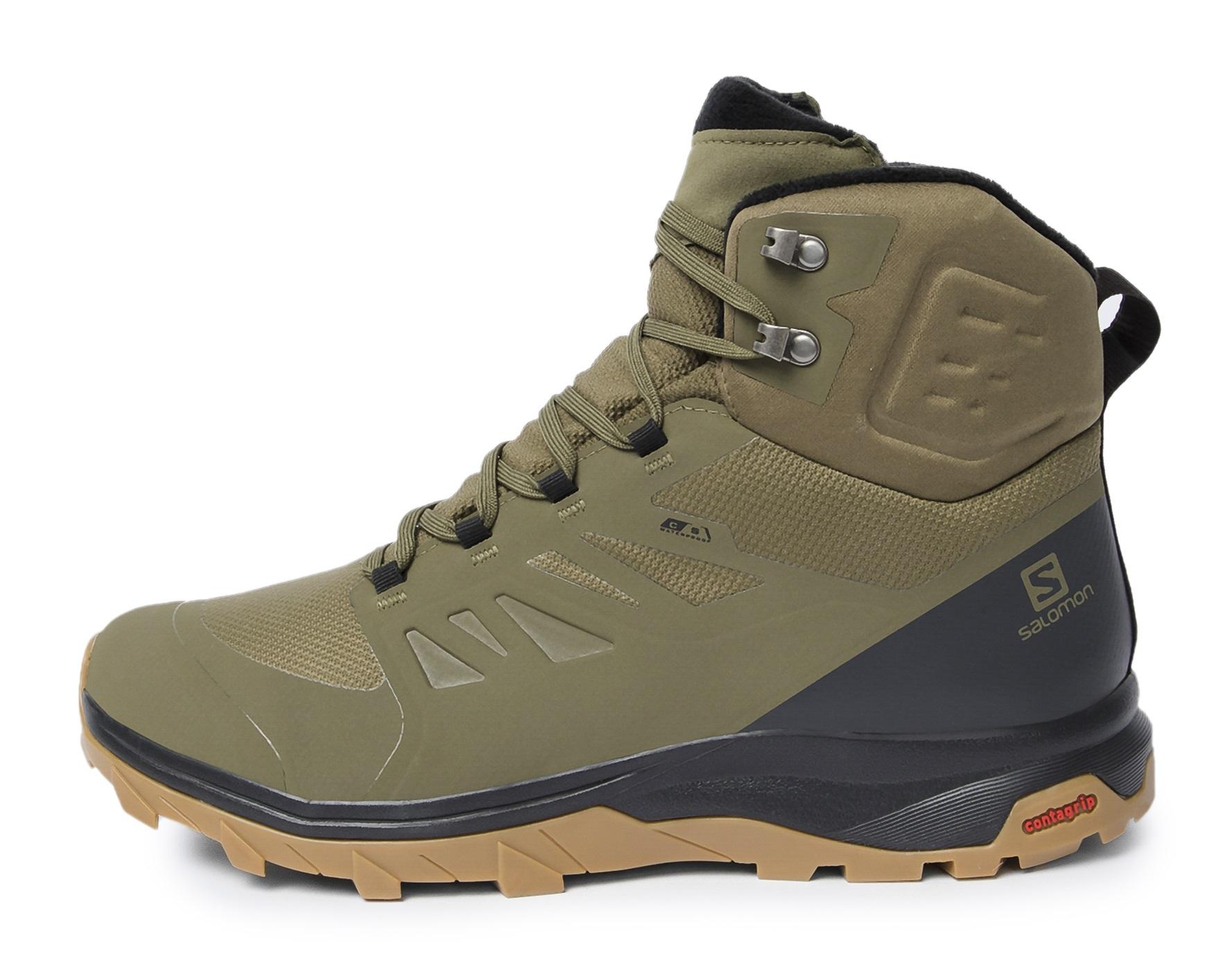 Salomon Ботинки утепленные мужские Salomon Outblast, размер 41 salomon ботинки утепленные мужские salomon crusano размер 40