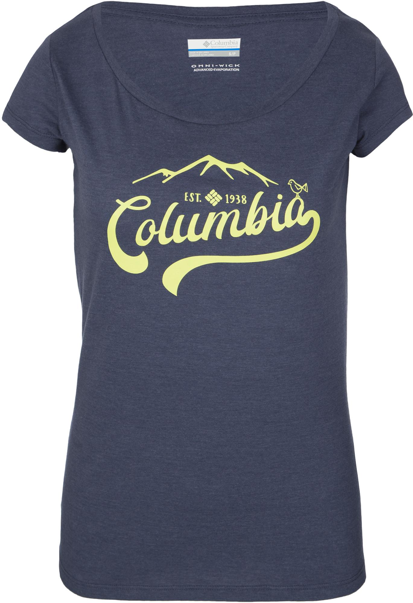 Columbia Футболка женская Columbia Outdoor Play Tee, размер 50 недорго, оригинальная цена