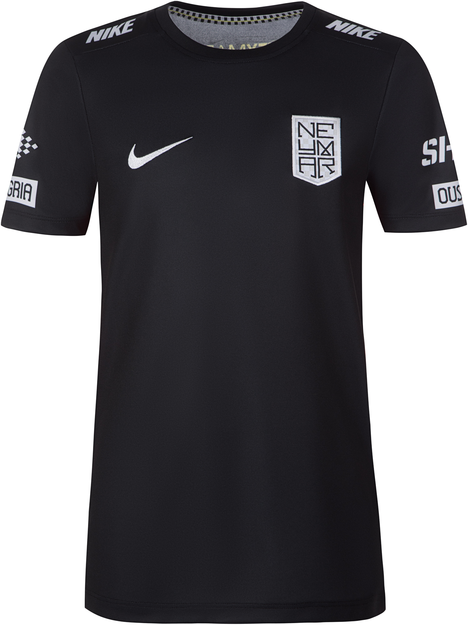 цена Nike Футболка для мальчиков Nike Neymar Jr. Dry, размер 158-170 онлайн в 2017 году