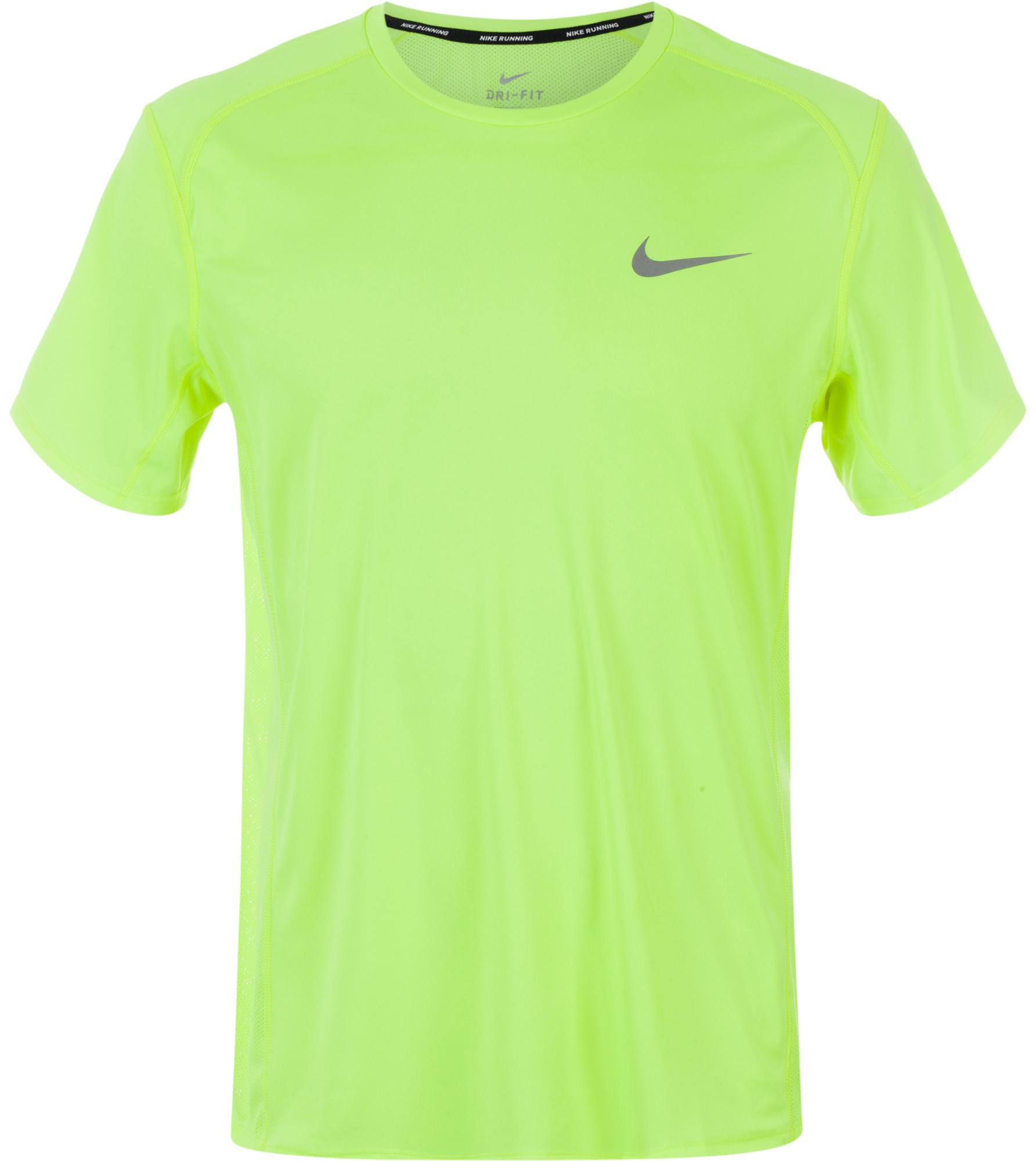 Nike Футболка мужская Nike Dry Miler футбольная экипировка nike