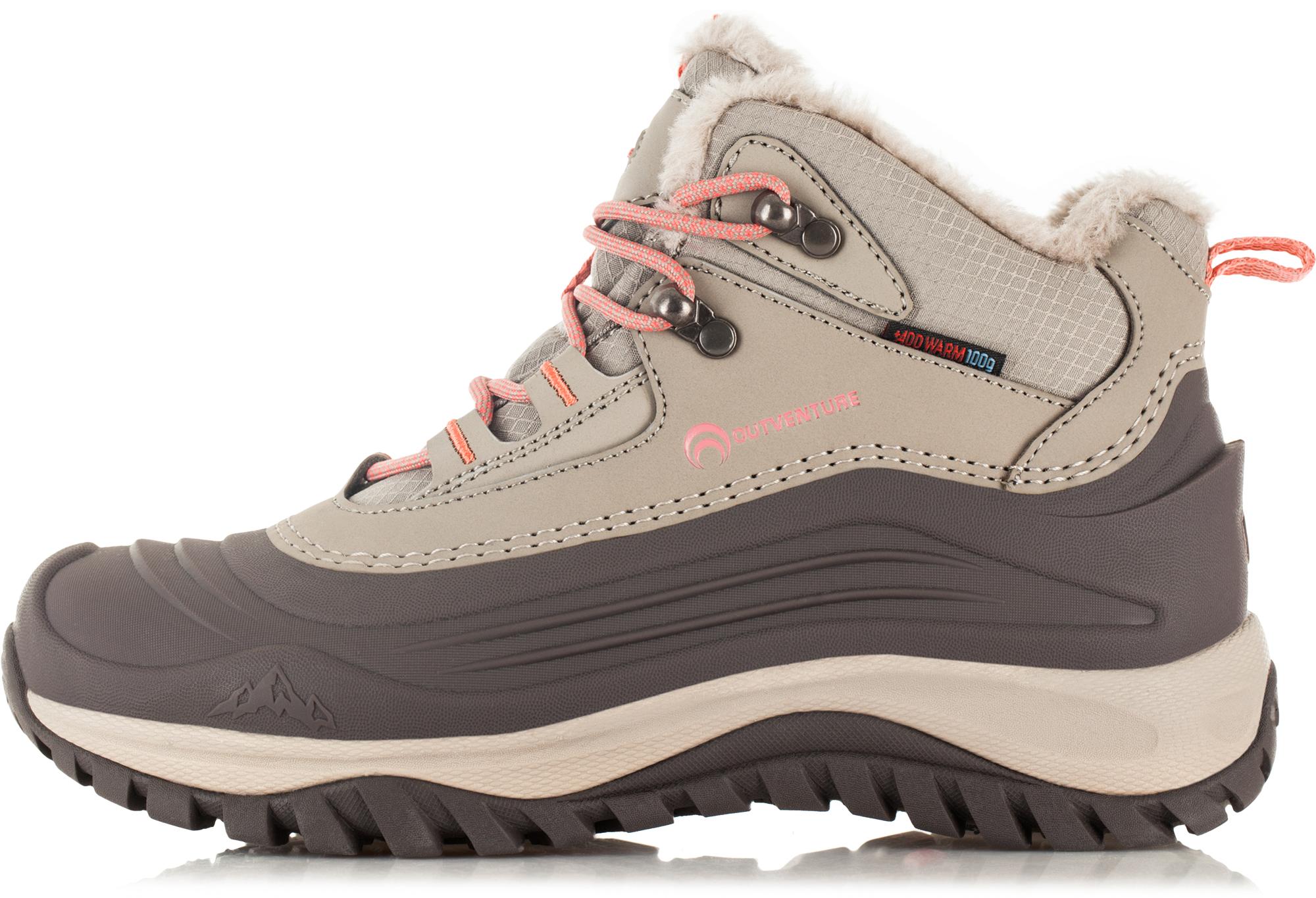 Outventure Ботинки утепленные женские Outventure Snowstorm, размер 41 outventure ботинки утепленные для мальчиков outventure