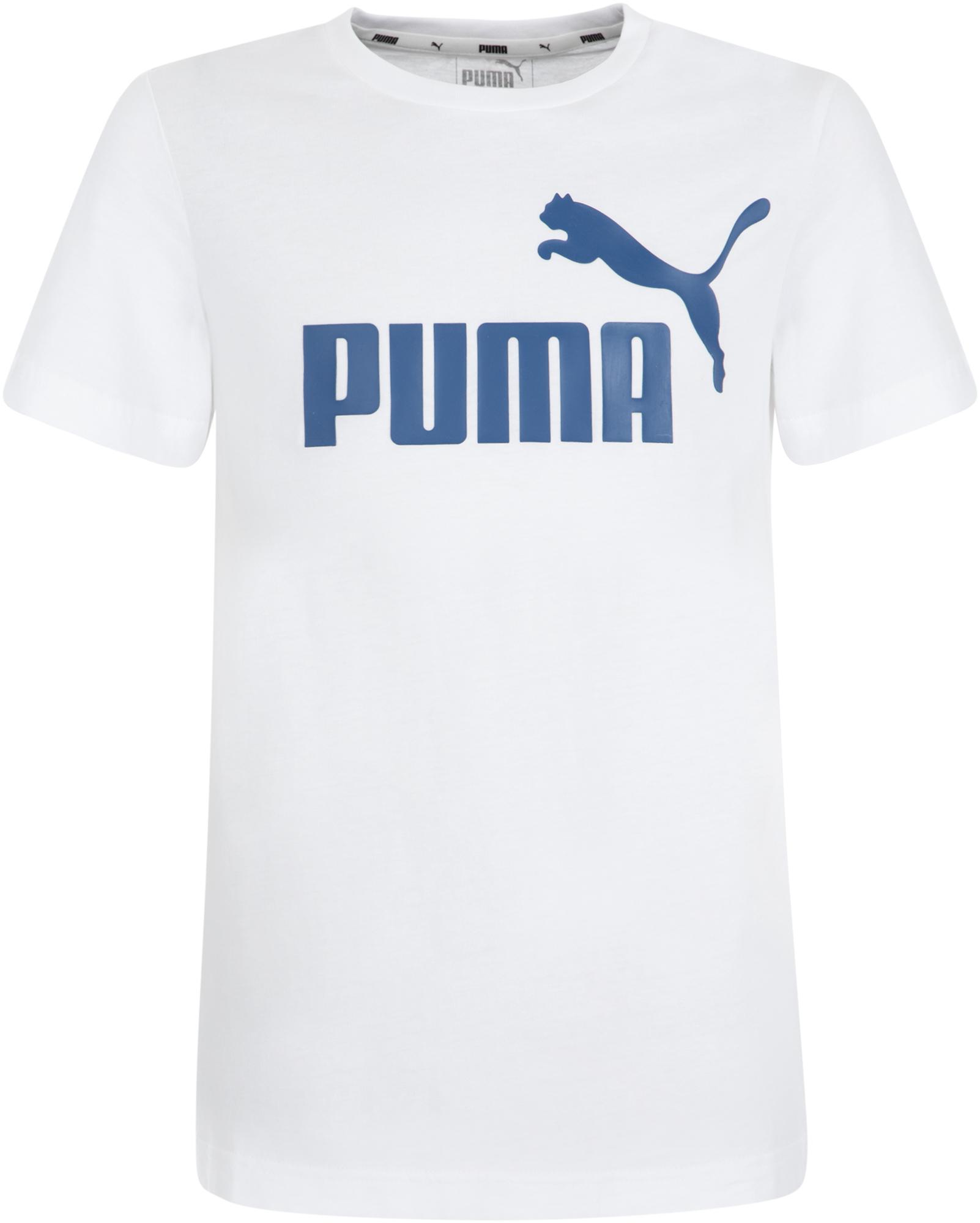 Puma Футболка для мальчиков Puma ESS Logo Tee B, размер 128 цена в Москве и Питере