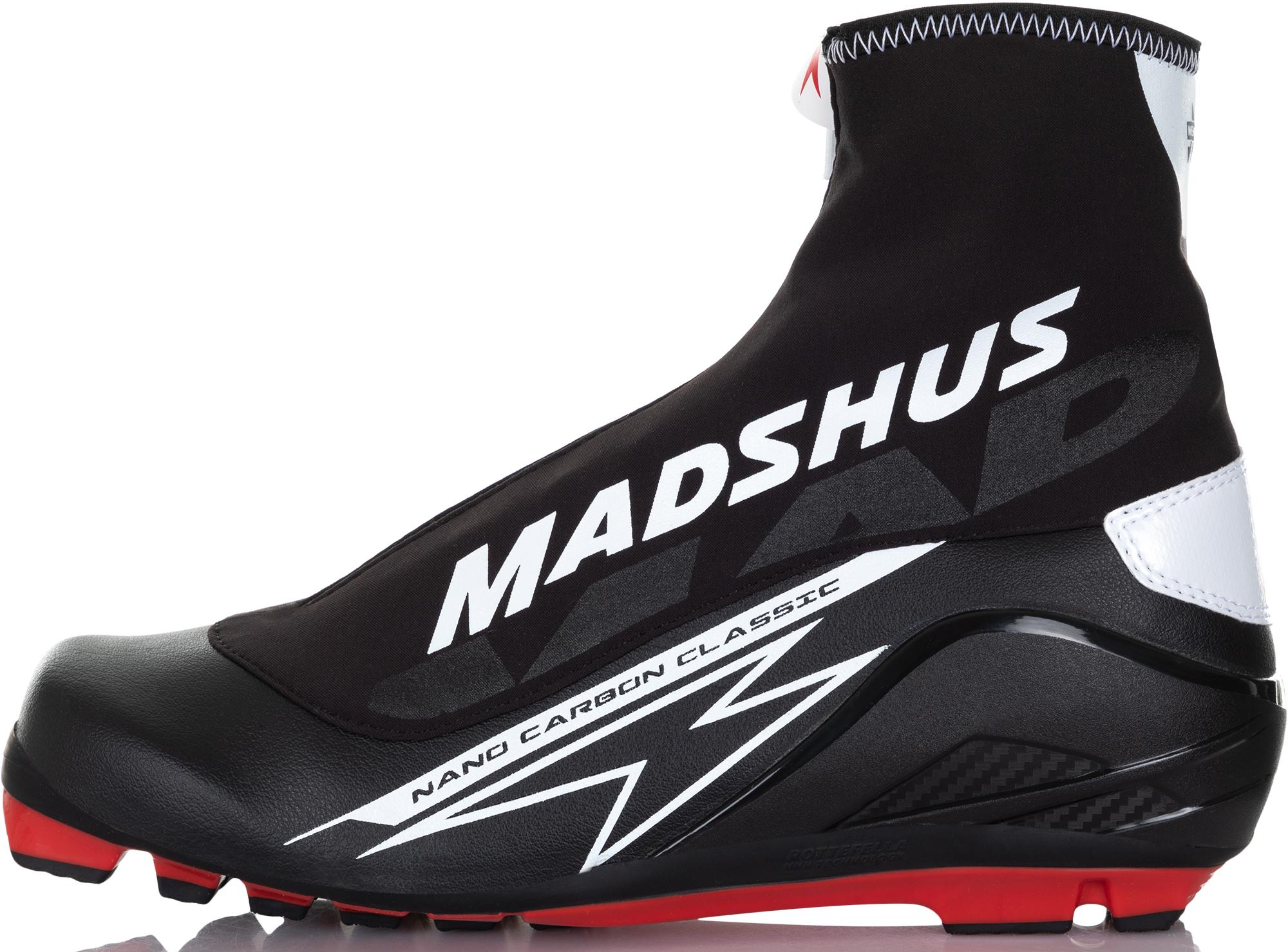 цены Madshus Ботинки для беговых лыж Madshus NANO CARBON CLASSIC