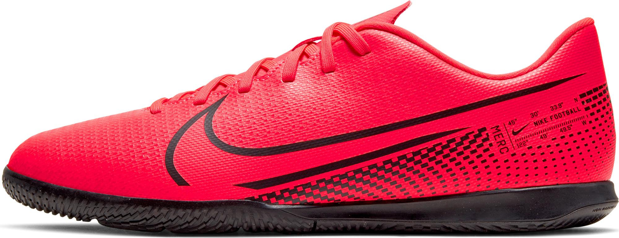 Nike Бутсы мужские Nike Mercurial Vapor 13 Club IC, размер 40 nike сумка nike vapor jet drum