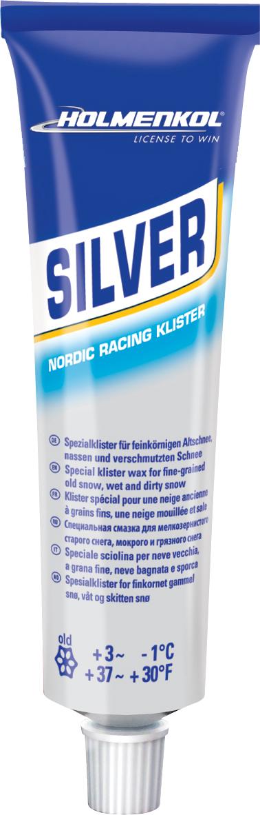 Holmenkol Мазь держания для беговых лыж HOLMENKOL KlisterSilver цена