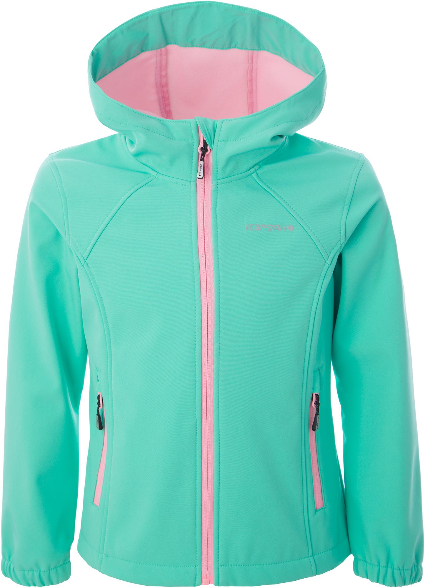 IcePeak Куртка софт-шелл для девочек IcePeak Tuua, размер 164 icepeak шапка для девочек icepeak размер без размера
