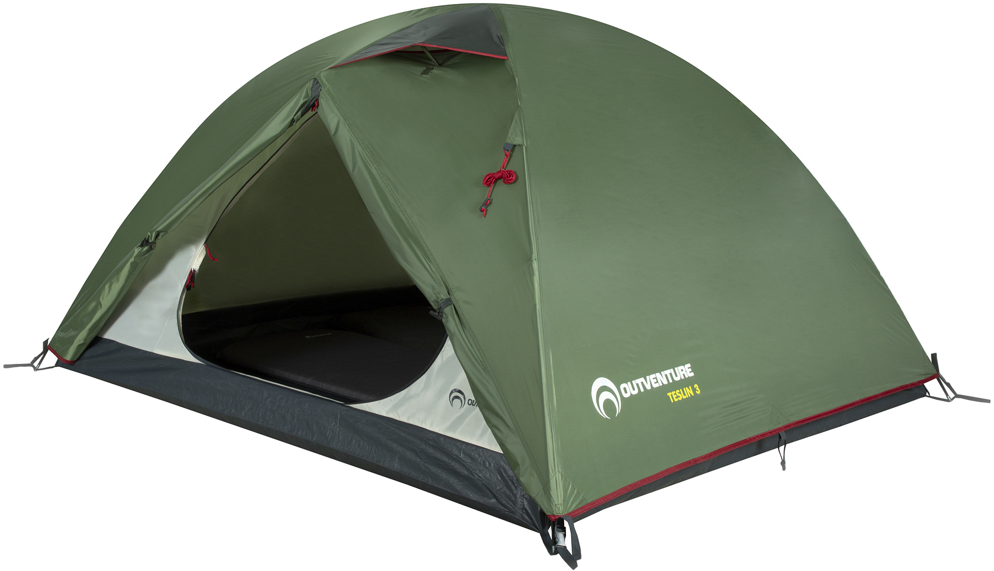 Фото - Outventure Teslin 3 палатка greenhouse fct 32 трехместная