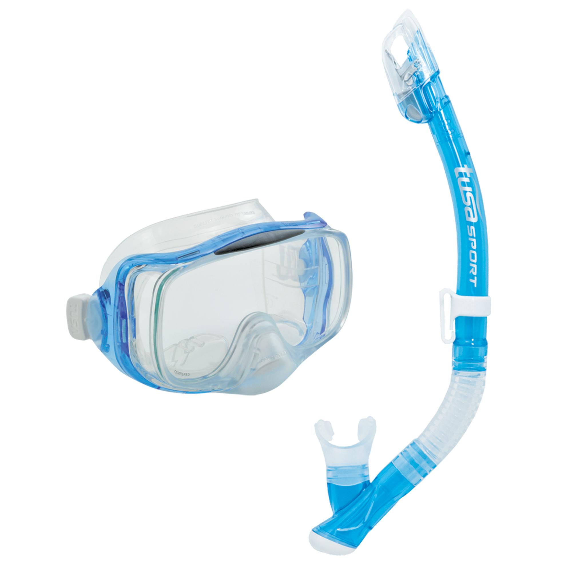 все цены на Tusa Комплект Tusa Imprex 3-D Dry: маска, трубка онлайн