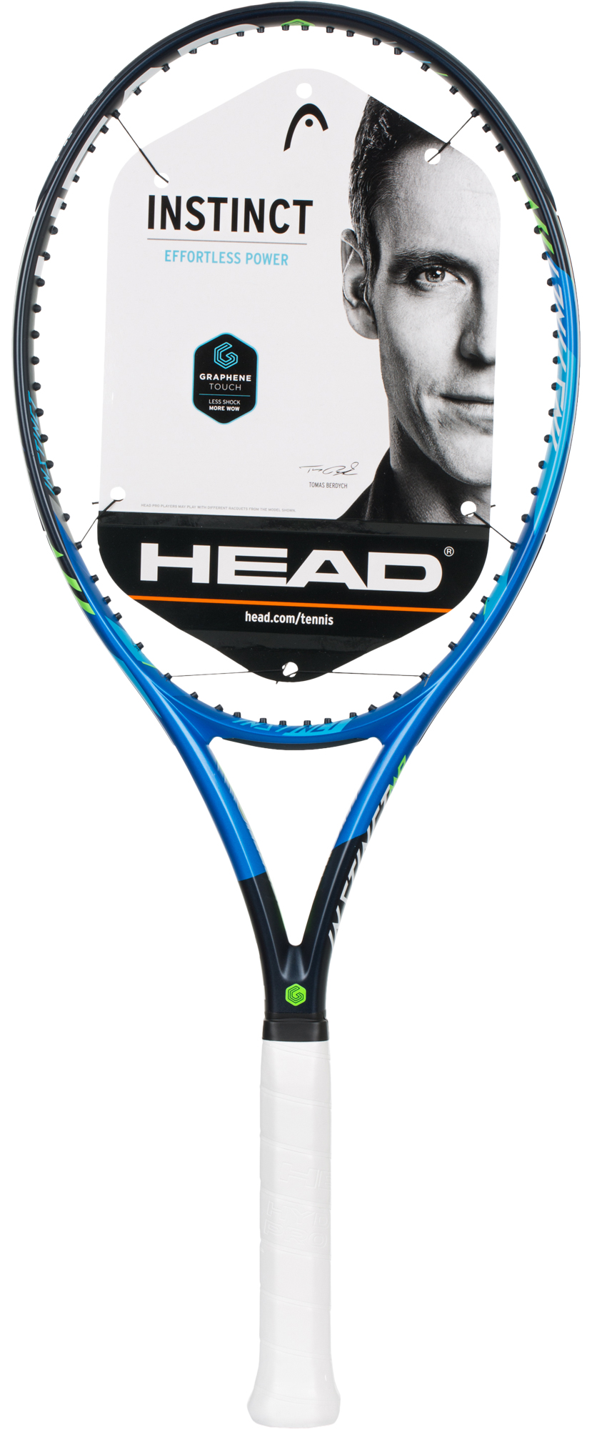 Head Ракетка для большого тенниса Head Graphene Touch Instinct MP, размер 4 head ракетка для большого тенниса детская head novak 23 размер без размера