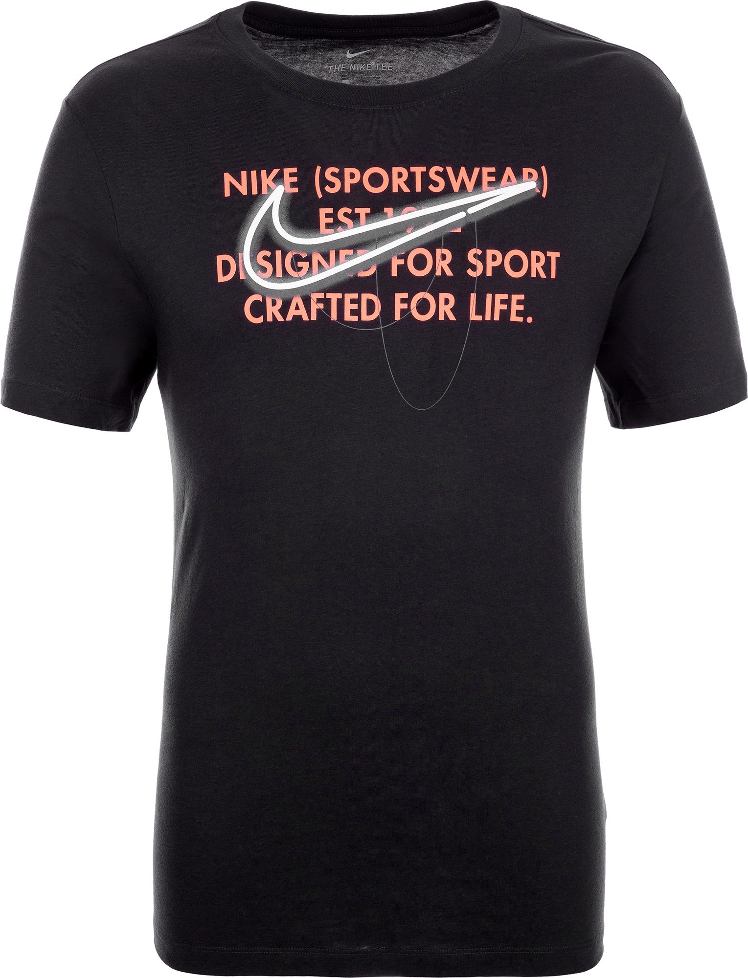 Nike Футболка мужская Nike, размер 52-54 цена 2017