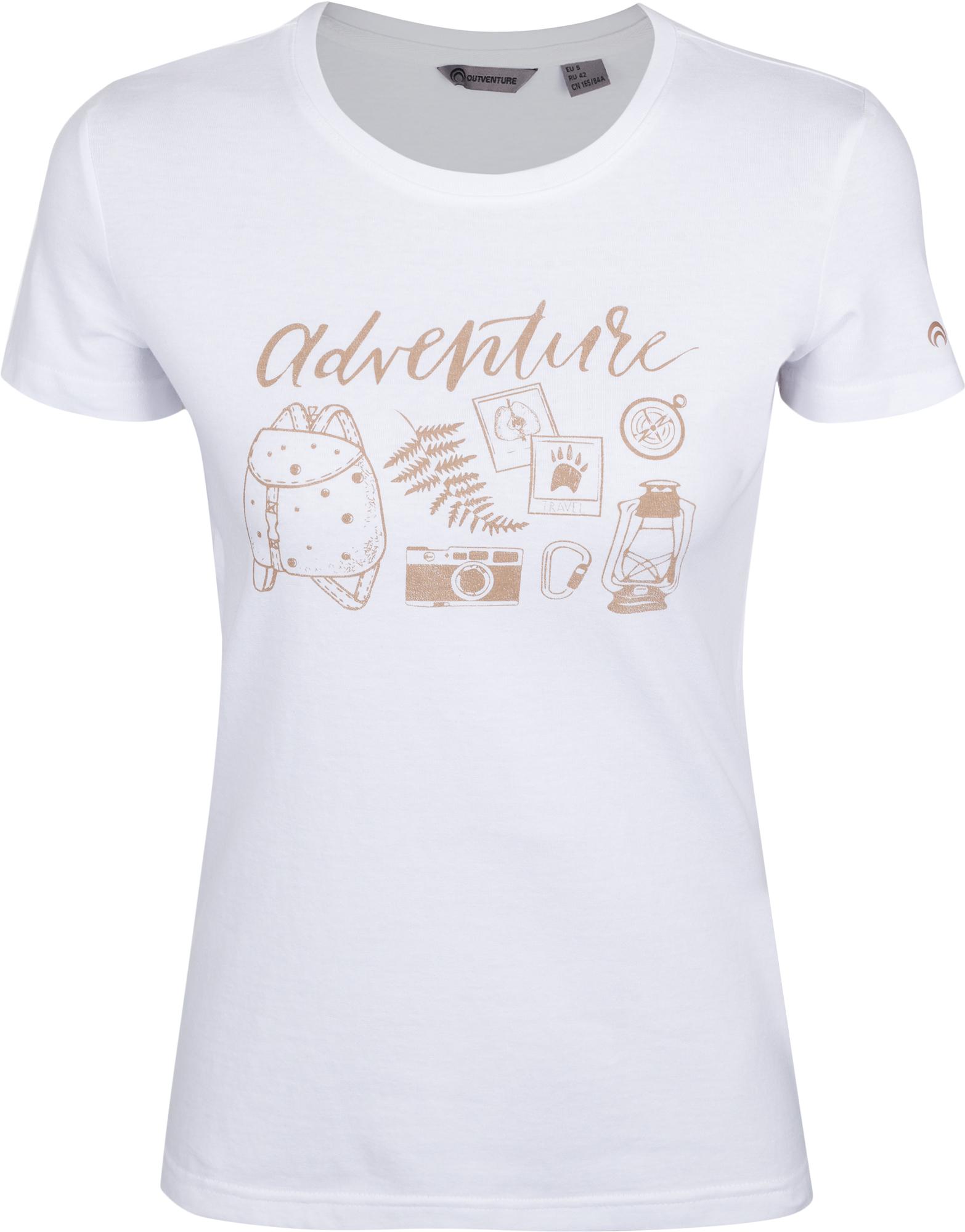 Outventure Футболка женская Outventure, размер 50