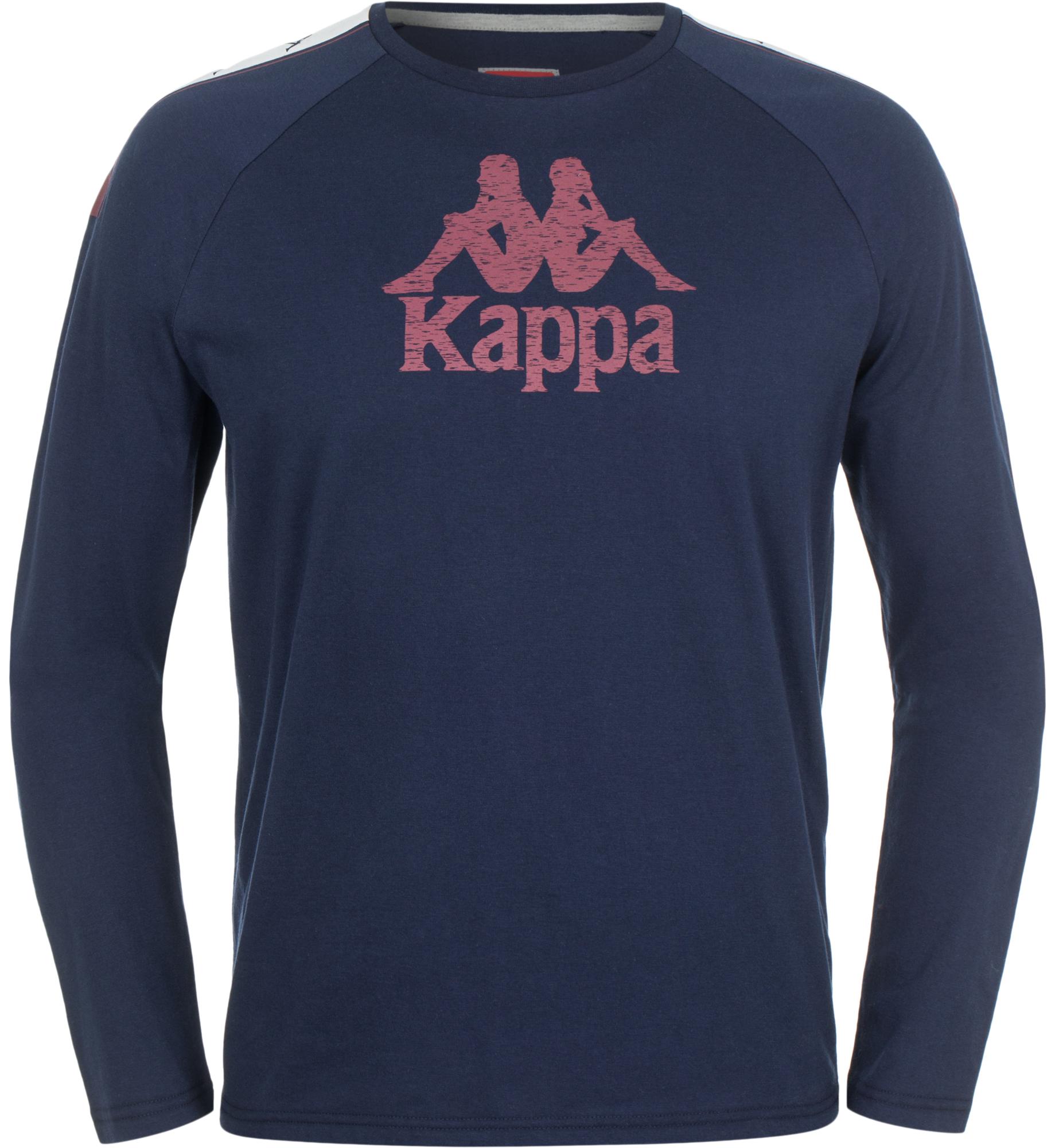 Kappa Футболка с длинным рукавом мужская Kappa свитшот kappa kappa ka039ewwje39