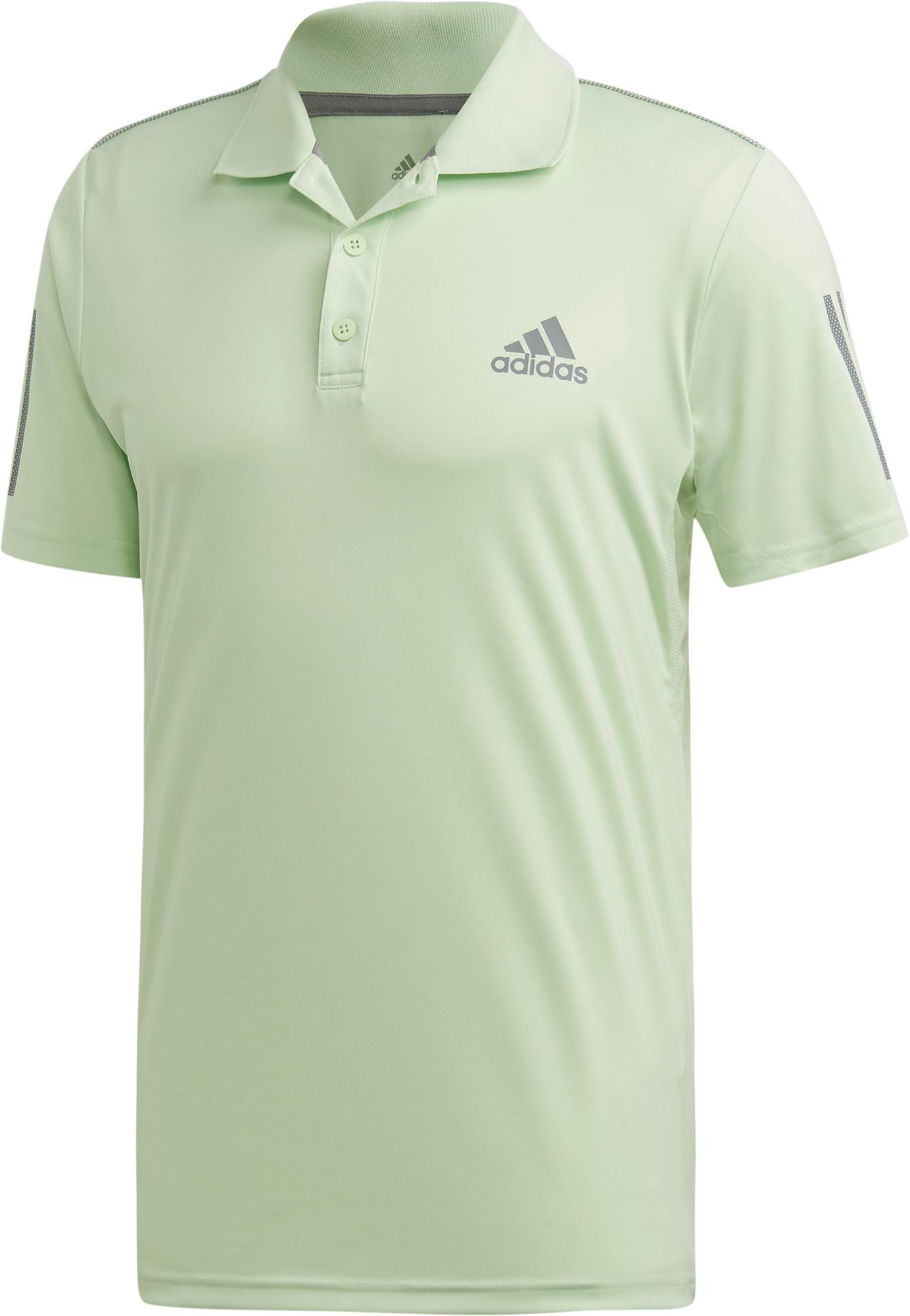Adidas Поло мужское Adidas 3-Stripes, размер 52-54 поло мужское rav цвет коричневый белый rav01 021 размер xl 52