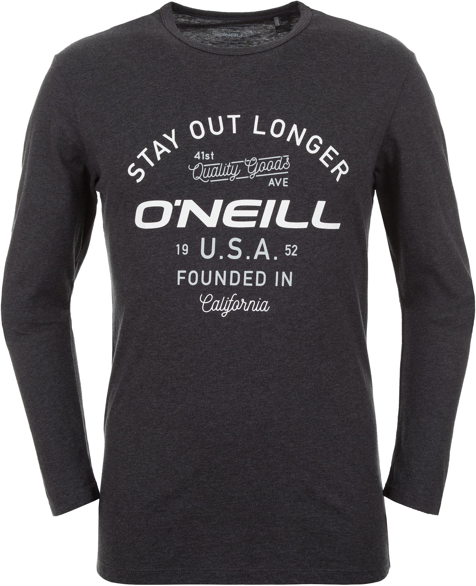O'Neill Футболка с длинным рукавом мужская O'Neill Type Artwork Ls, размер 52-54