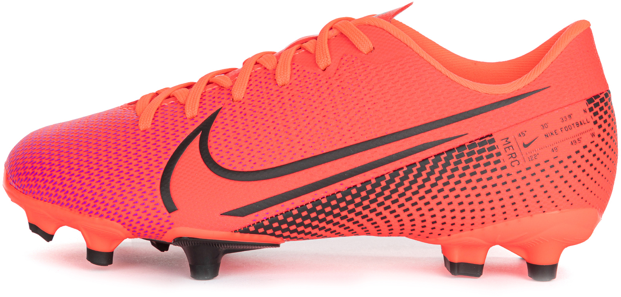 Nike Бутсы для мальчиков Nike Jr Vapor 13 Academy Fg/Mg, размер 36.5 бутсы детские nike vapor 13 club mg ps at8162 010