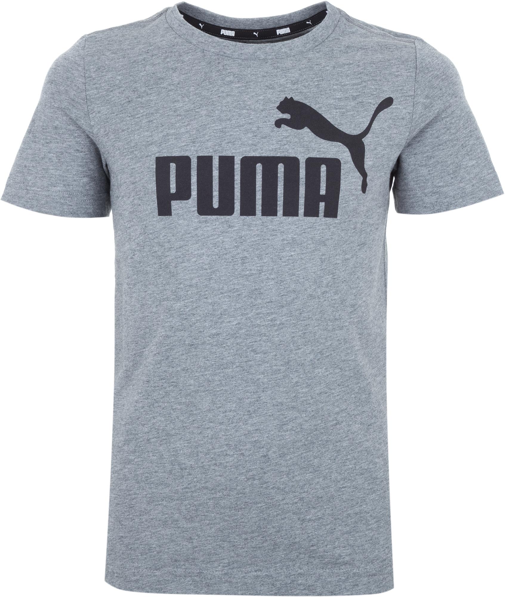 Puma Футболка для мальчиков Puma ESS Logo Tee, размер 176 цена в Москве и Питере