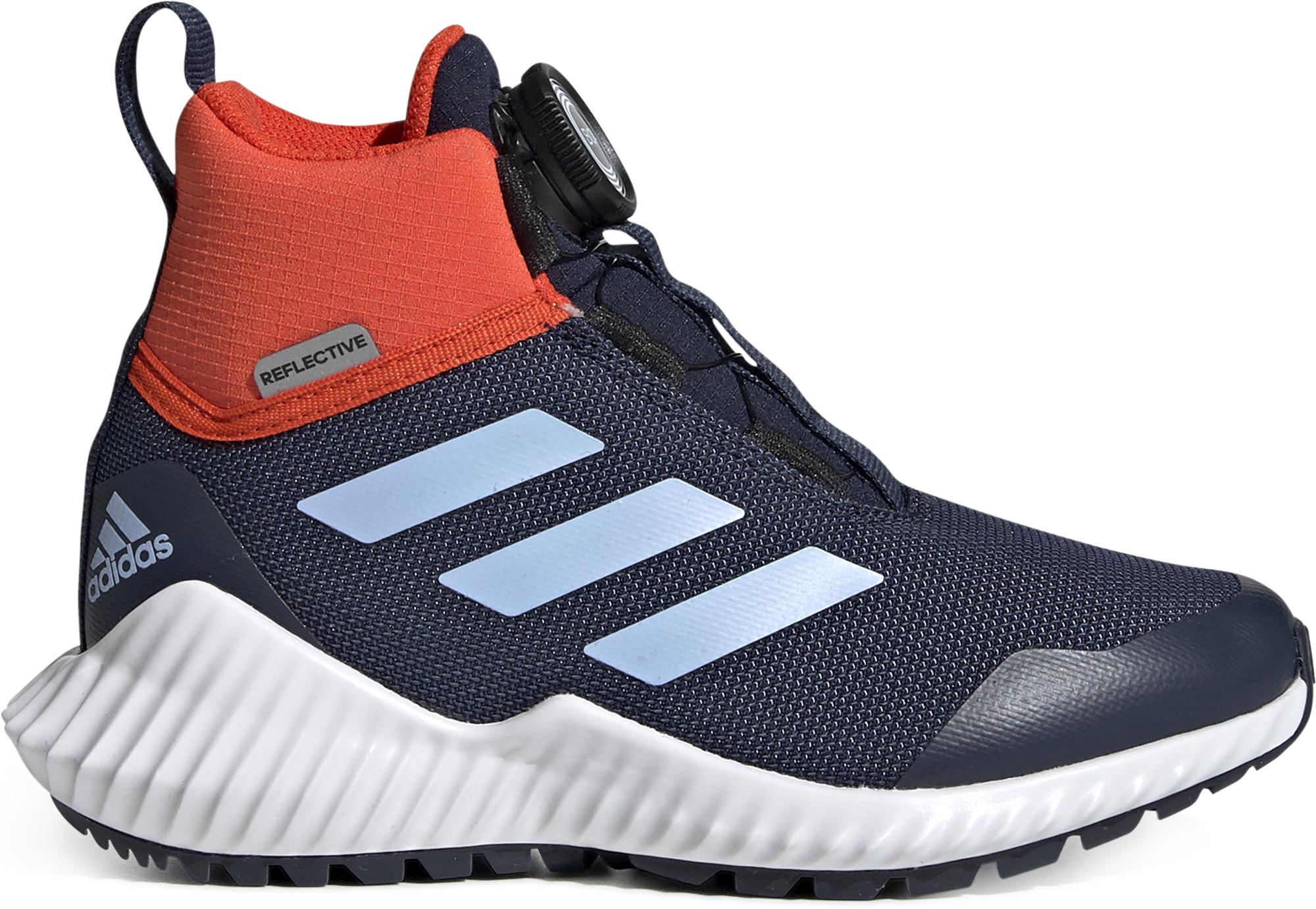 цена Adidas Кроссовки высокие детские утепленные Adidas FortaTrail BOA, размер 34 онлайн в 2017 году