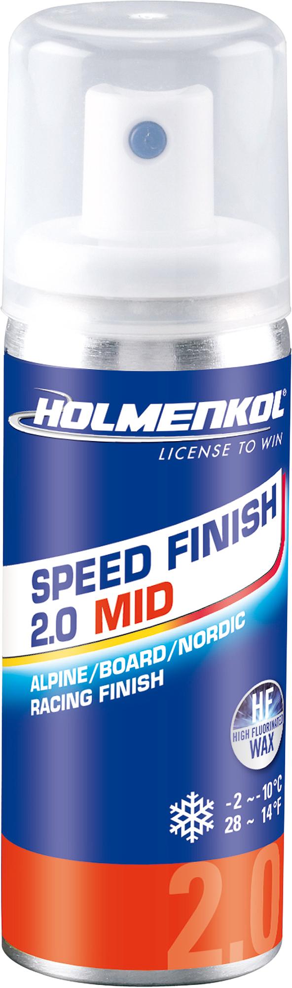 Holmenkol Эмульсия фторуглеродная для лыж и сноубордов HOLMENKOL Speed Finish2.0 MID