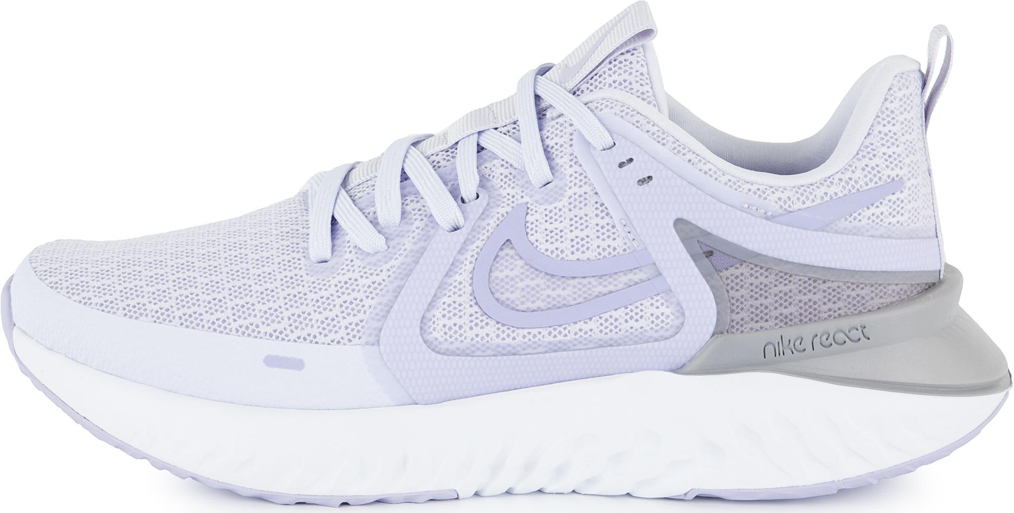 Nike Кроссовки женские Nike Legend React 2, размер 40 кроссовки для мальчика nike jr tiempo legend vi tf цвет черный 819191 010 размер 6 37 5