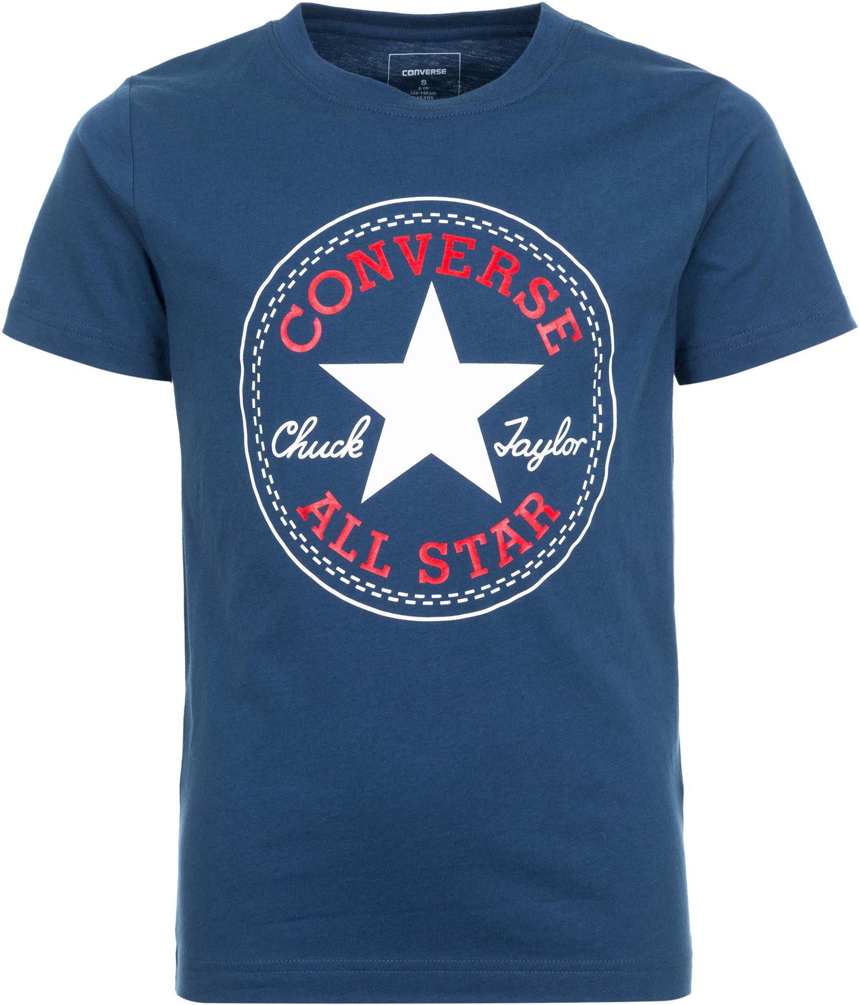где купить Converse Футболка для мальчиков Converse дешево
