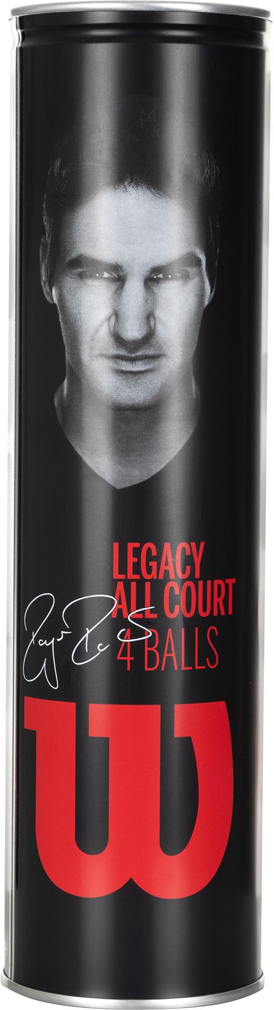 Wilson Набор мячей для большого тенниса Roger Federer Legacy