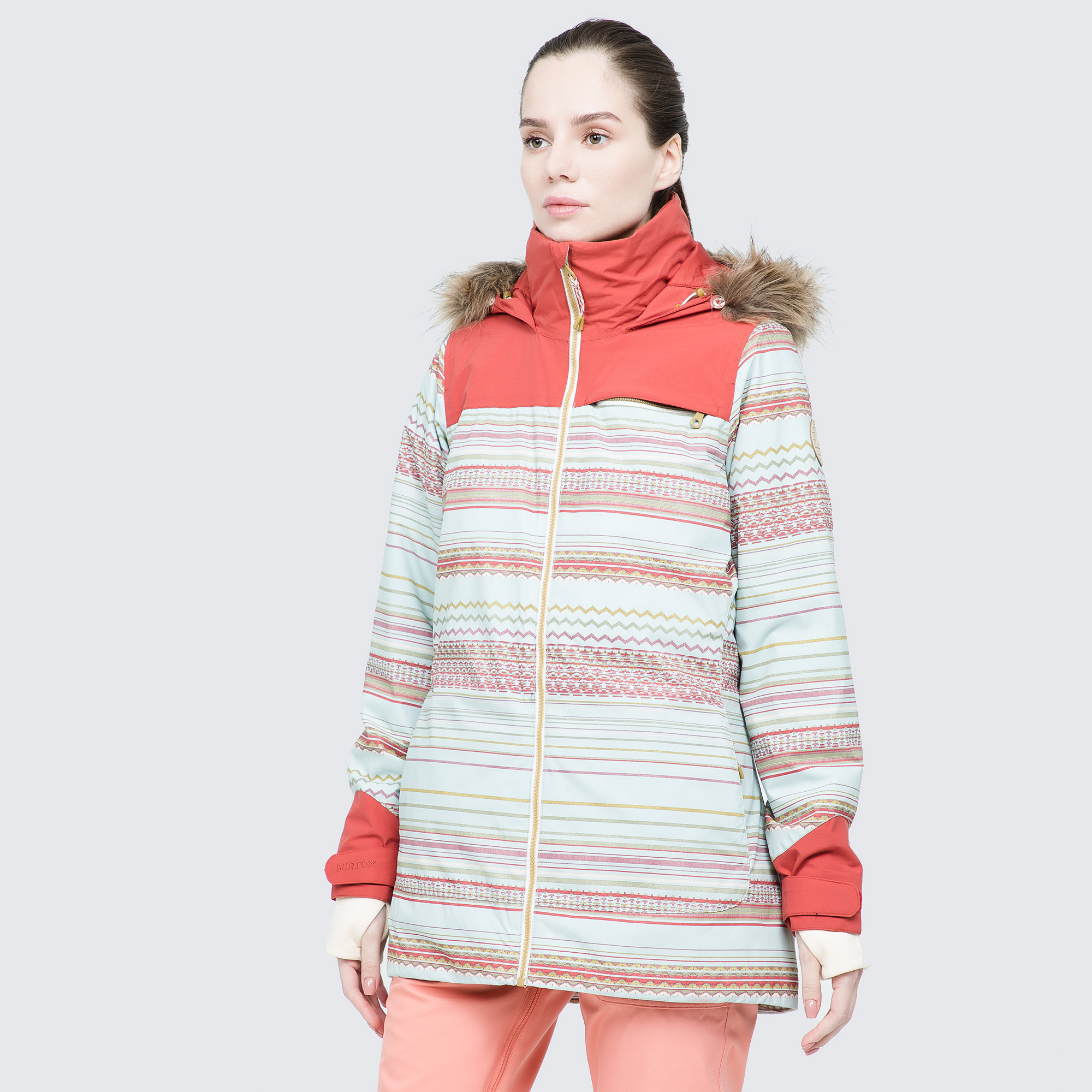 Burton Куртка утепленная женская Burton Lelah, размер 48-50 burton куртка утепленная женская burton minturn размер 48 50