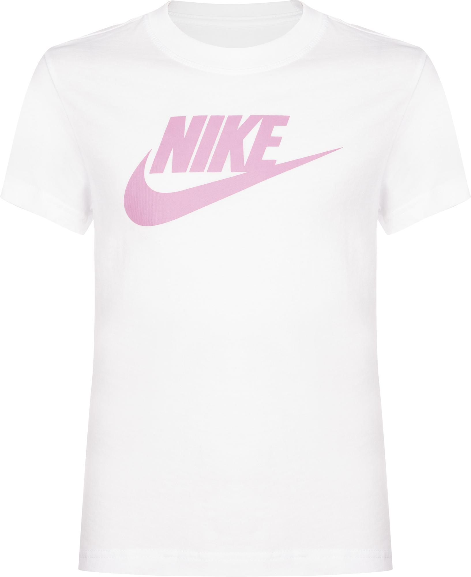 Nike Футболка для девочек Nike Sportswear, размер 156-165 футболка nike nike ni464emfnck8