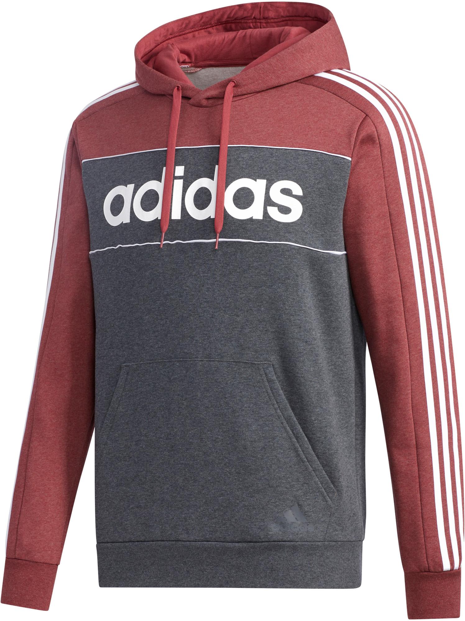 худи женское adidas ess 3s fz hd цвет серый розовый br2438 размер s 42 44 Adidas Худи мужская adidas Essentials, размер 48-50