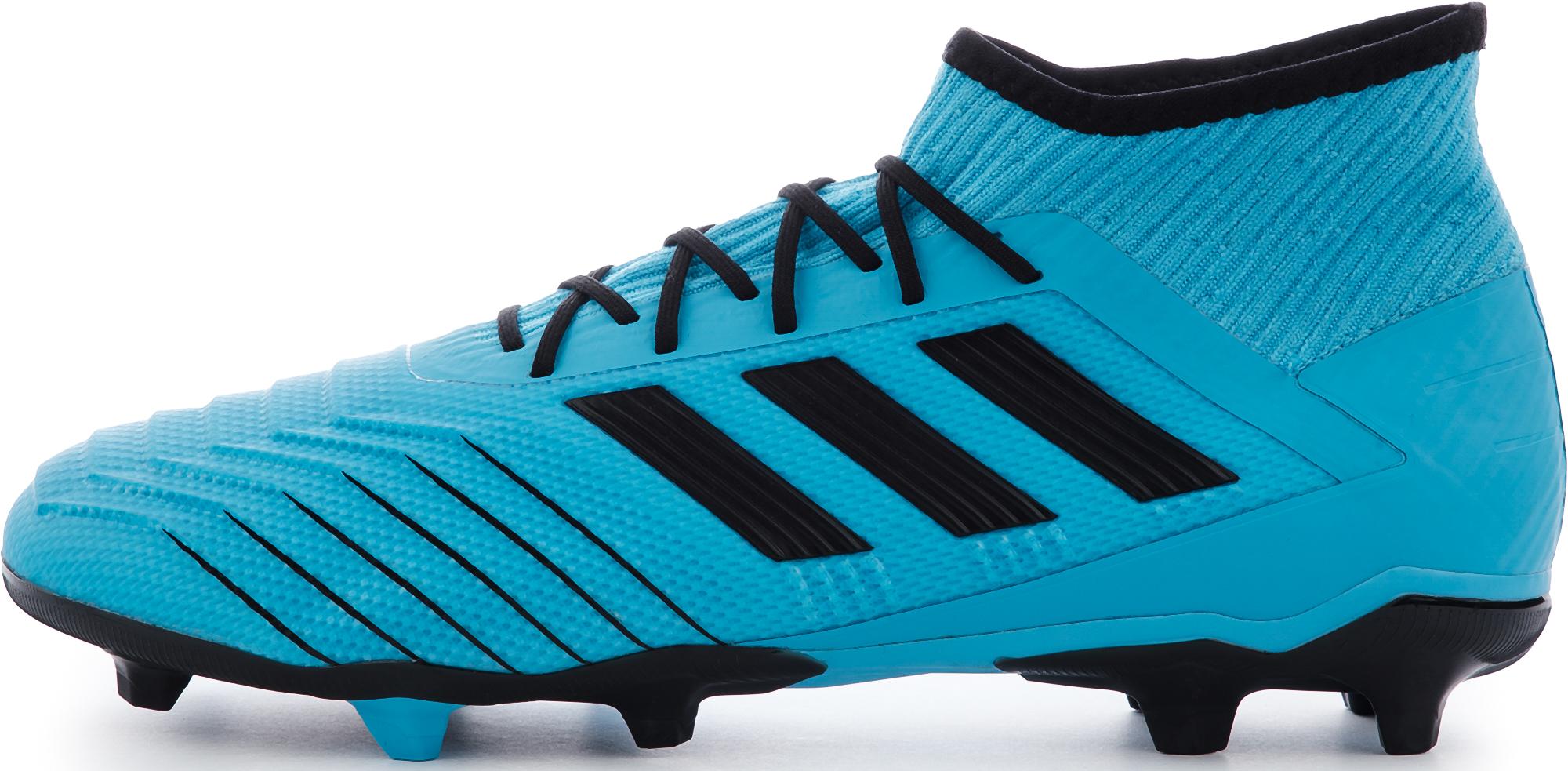 Adidas Бутсы мужские Adidas Predator 19.2 FG, размер 44 бутсы adidas predator 18 3 fg db2001