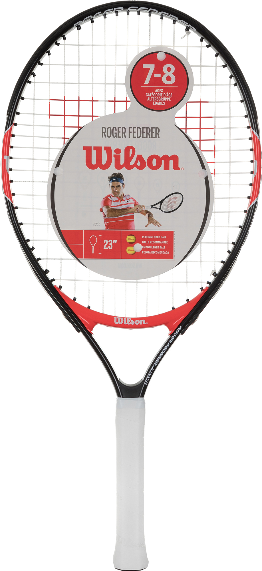 Wilson Ракетка для большого тенниса детская Wilson Roger Federer 23 цена
