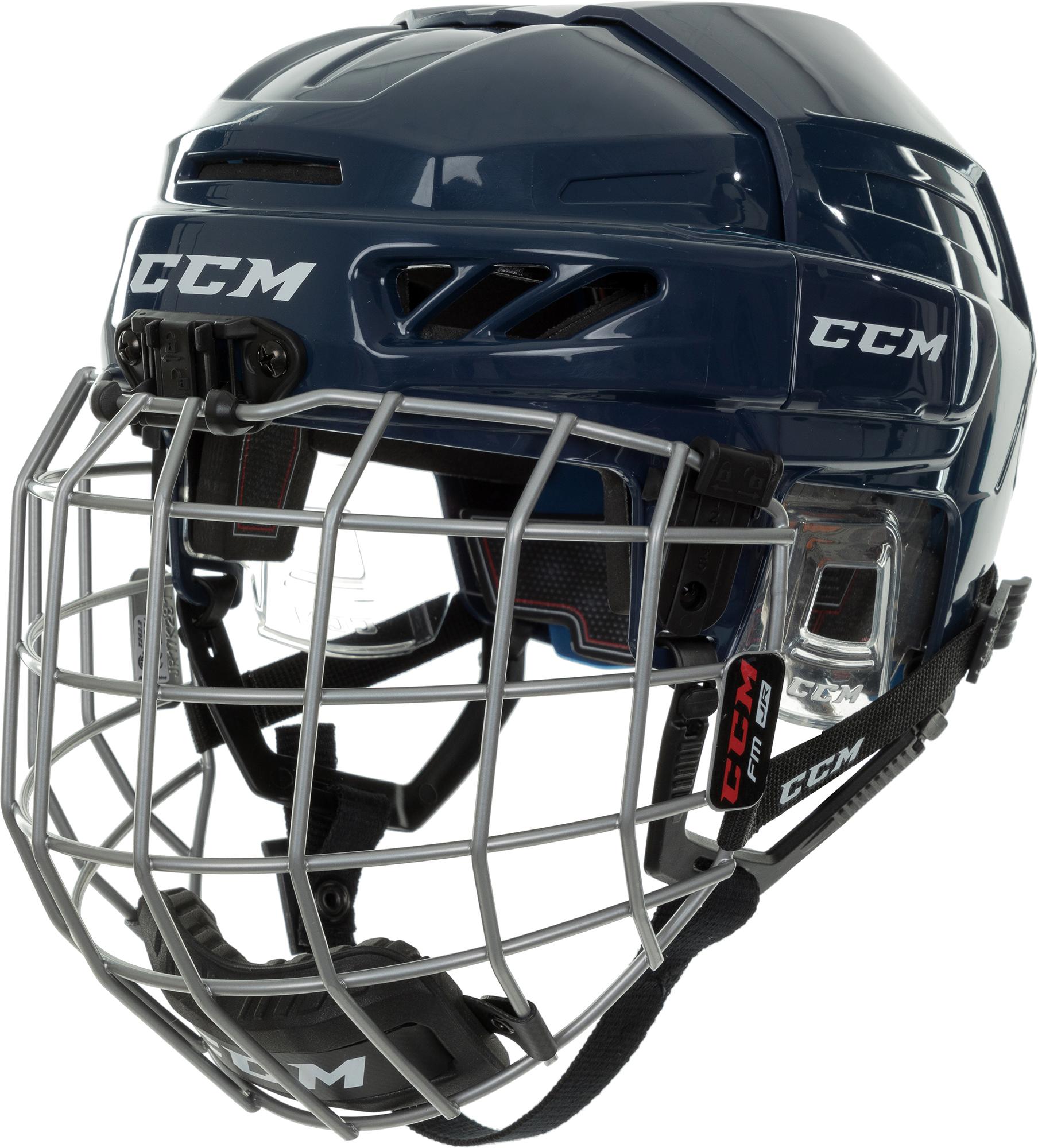 CCM Шлем хоккейный детский CCM FITLITE 3DS, размер 48-53 ccm шлем хоккейный ccm tacks 310