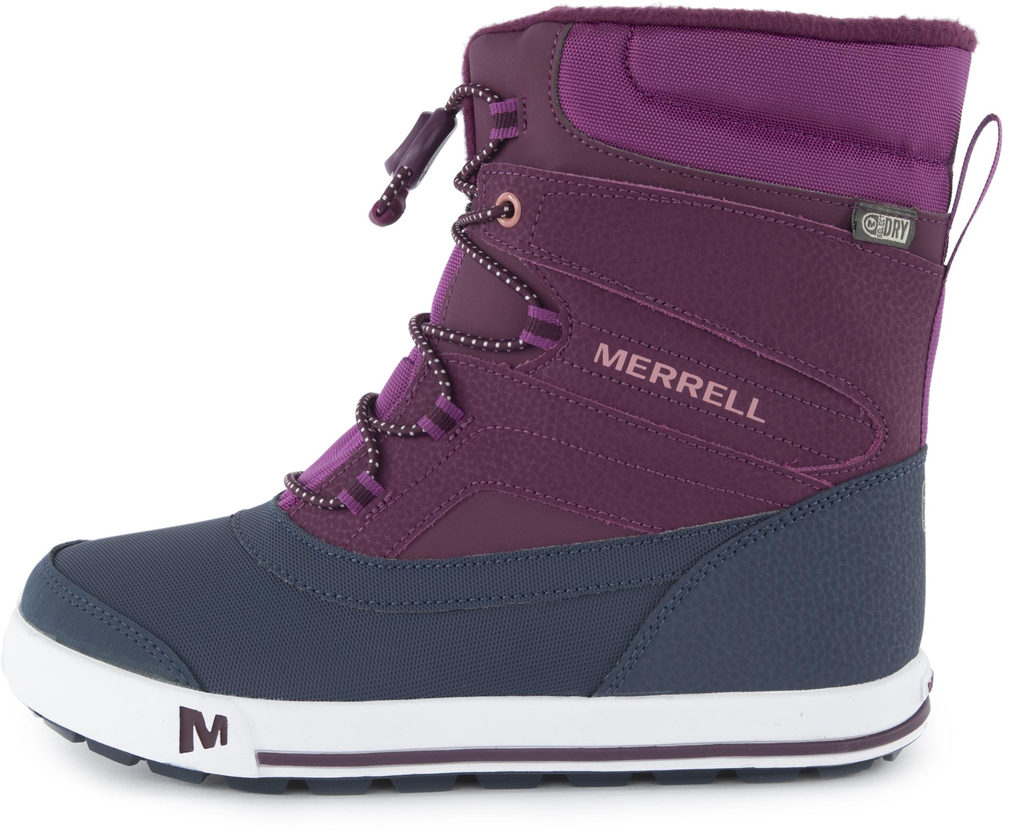 Merrell Ботинки утепленные для девочек Merrell Ml-Snow Bank 2.0, размер 37,5 цены онлайн