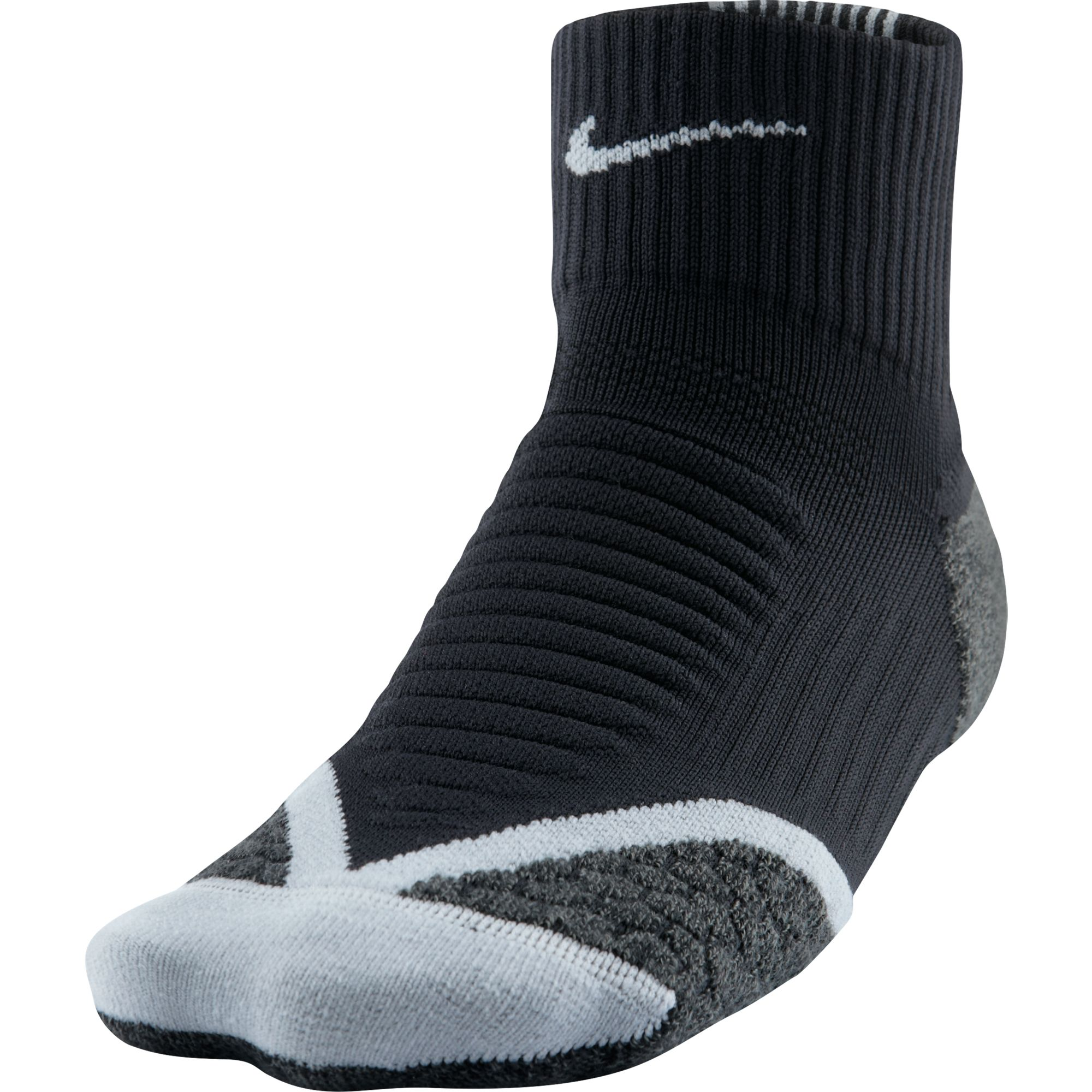 цена на Nike Носки Nike Elite Running Cushion Qtr, 1 пара, размер 43-44,5