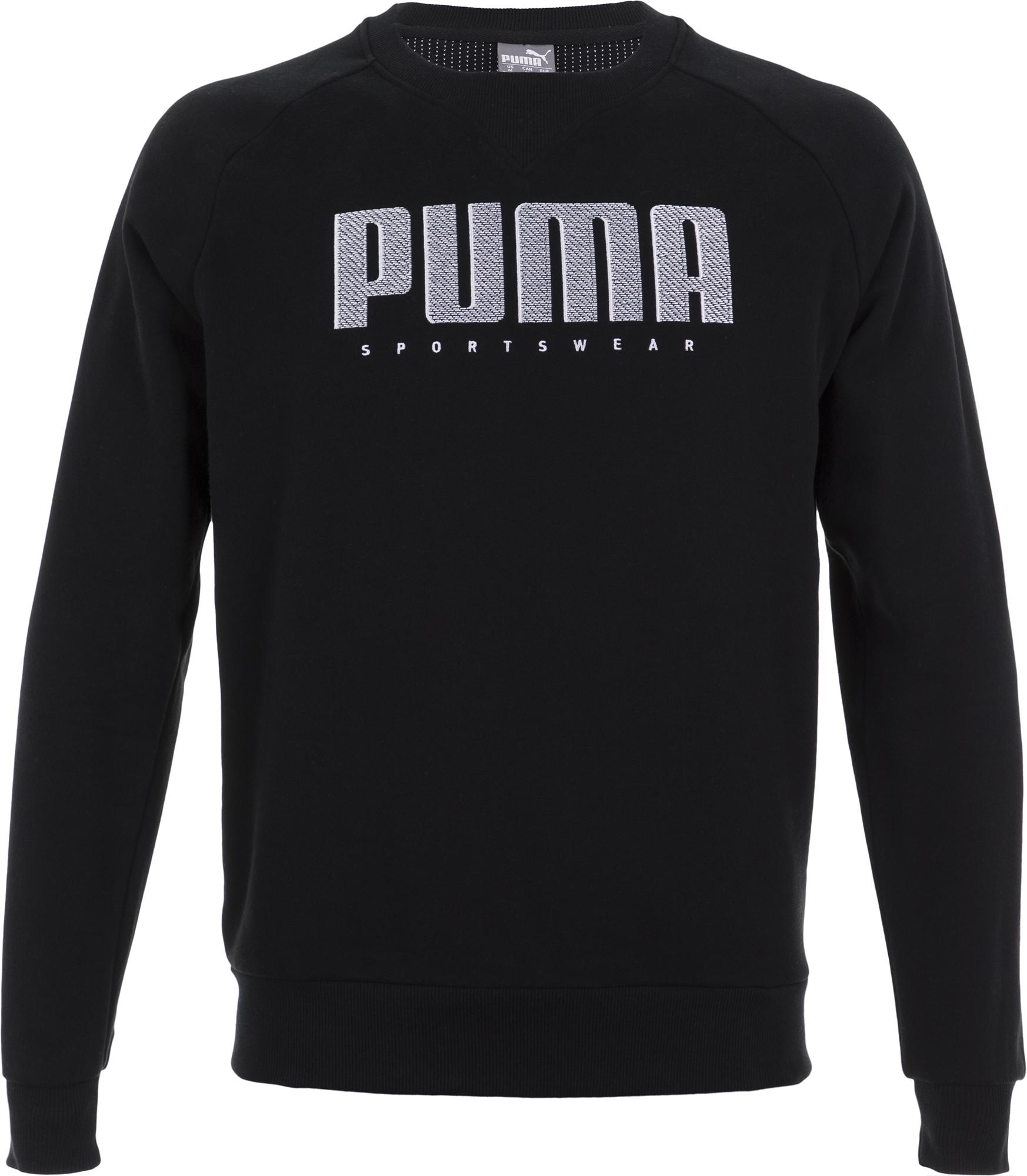 Puma Свитшот мужской Puma Athletics Crew, размер 50-52 цены онлайн