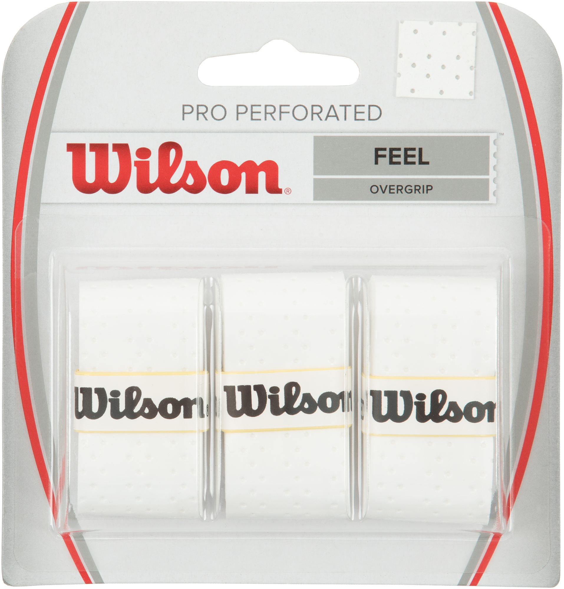Wilson Намотка Базовая Wilson PRO OVERGRIP PERFORATED овергрип wilson pro soft overgrip wrz4040or