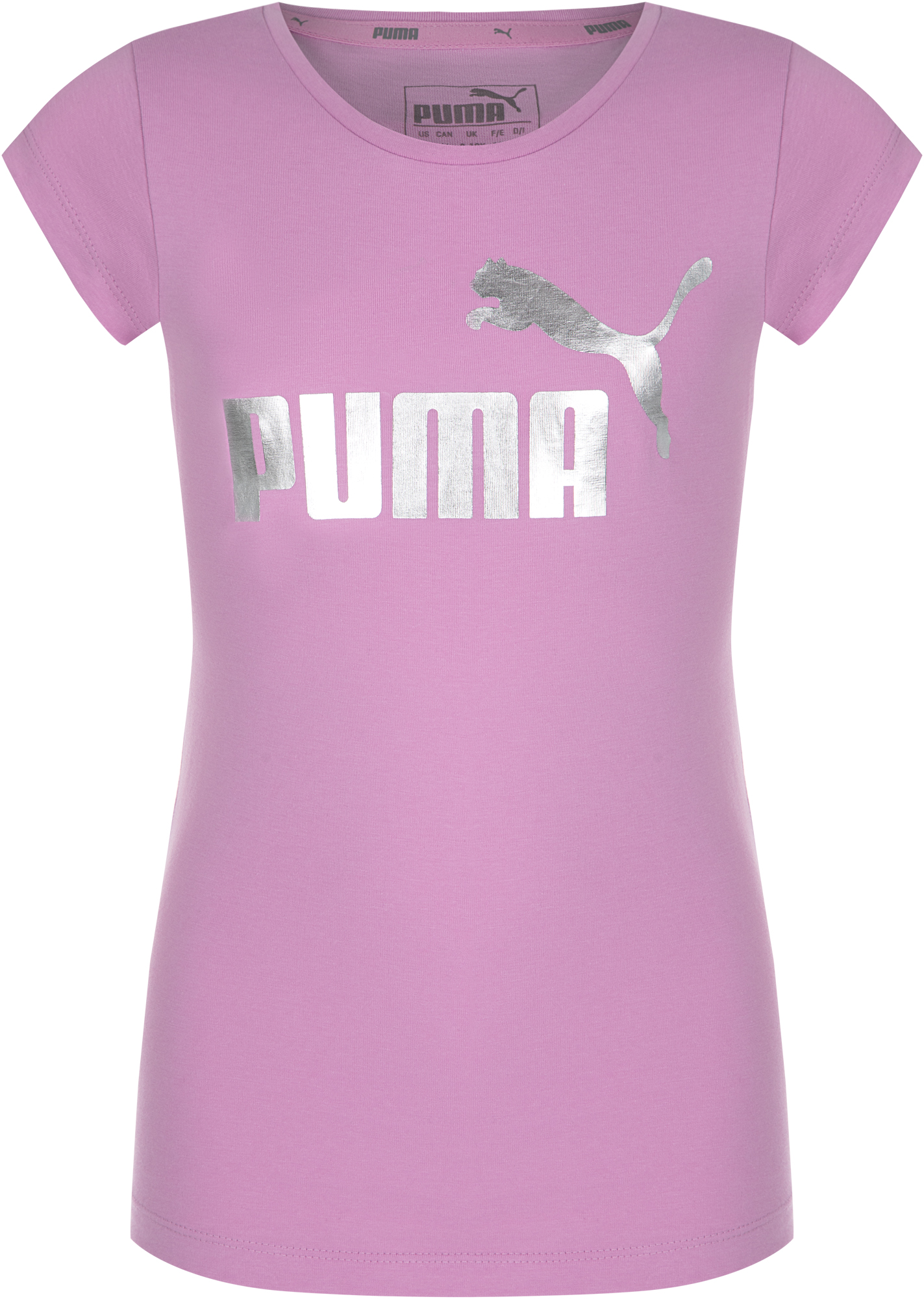 Puma Футболка для девочек Puma Girls Glitter Tee, размер 164 цена 2017
