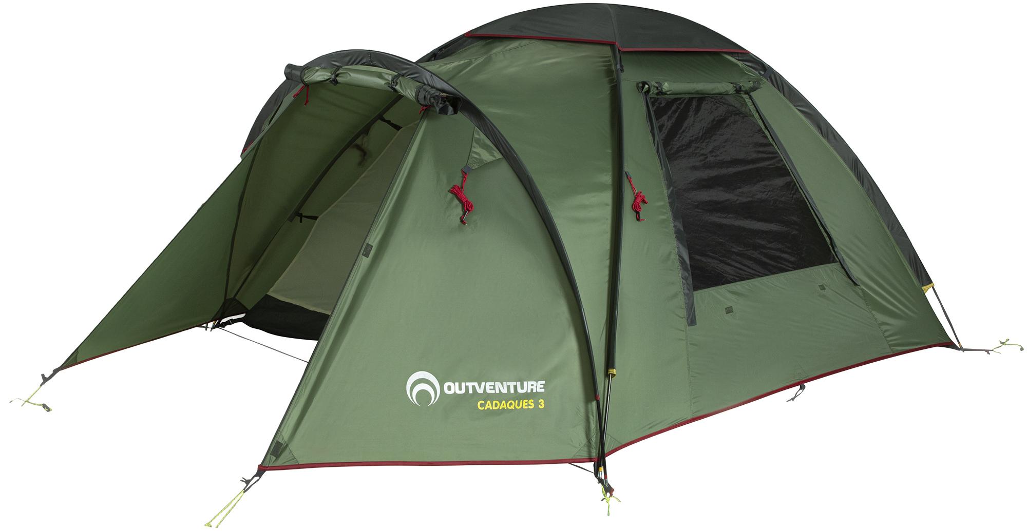 Фото - Outventure CADAQUES 3 палатка greenhouse fct 32 трехместная