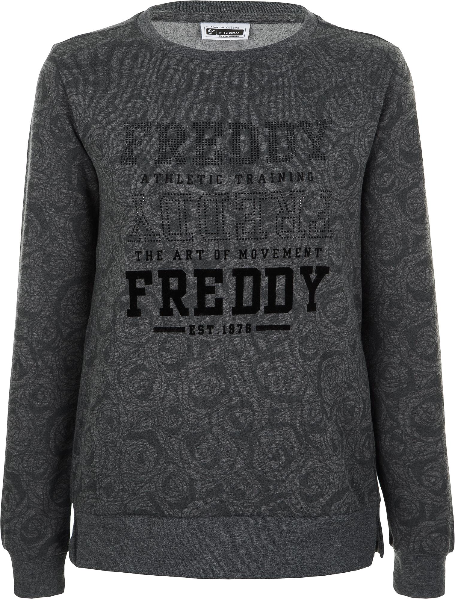 Freddy Свитшот женский Freddy, размер 48-50 недорго, оригинальная цена