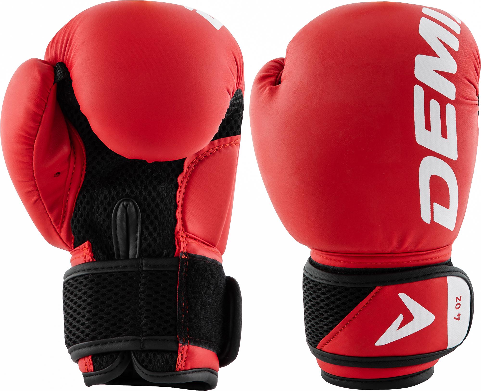 Demix Перчатки боксерские детские Demix, размер 4-8 боксерские перчатки venum challenger 2 0 черный белый вес 10 унций