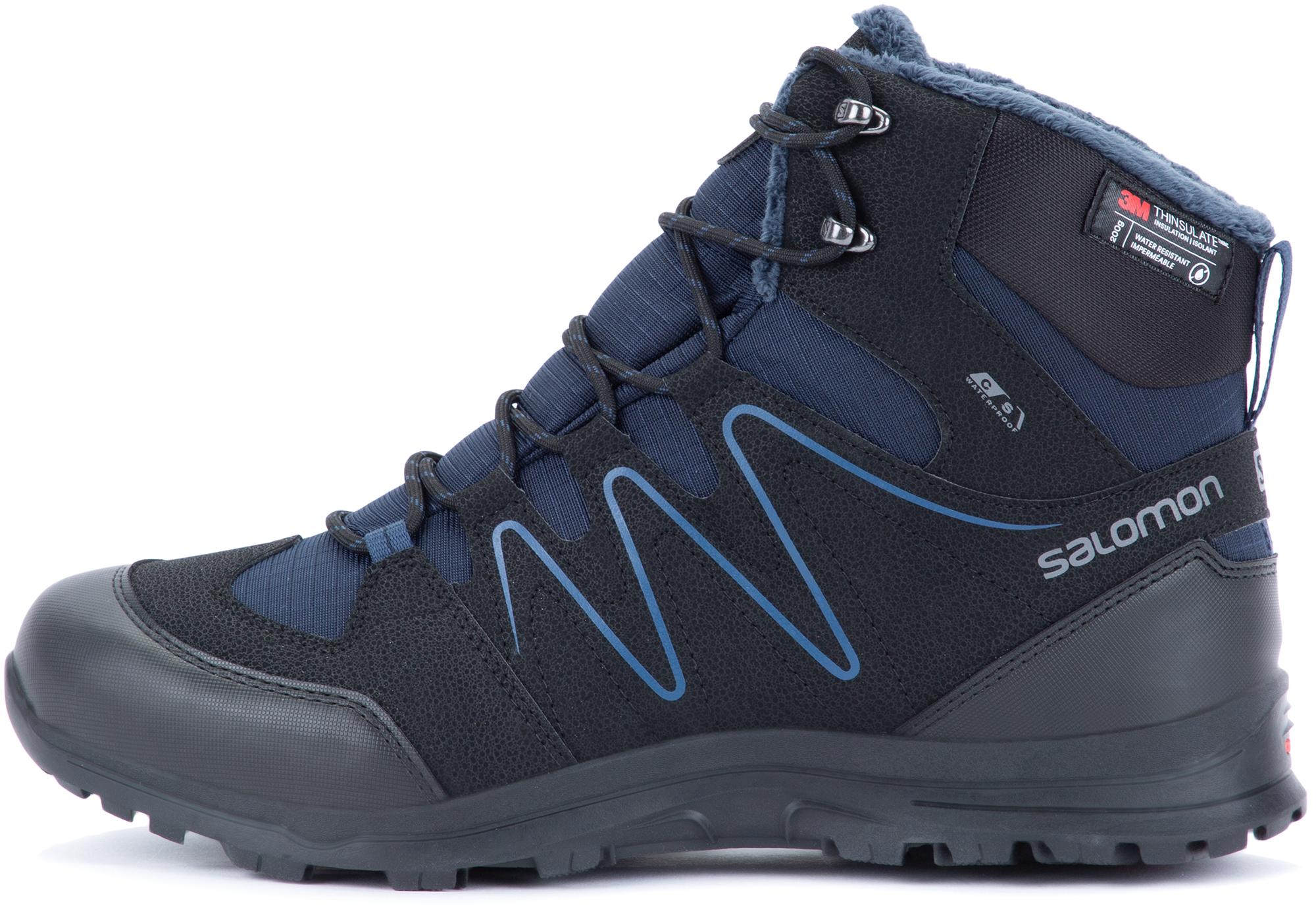 Salomon Ботинки утепленные мужские Salomon Shallow, размер 44 salomon ботинки утепленные мужские salomon crusano размер 40