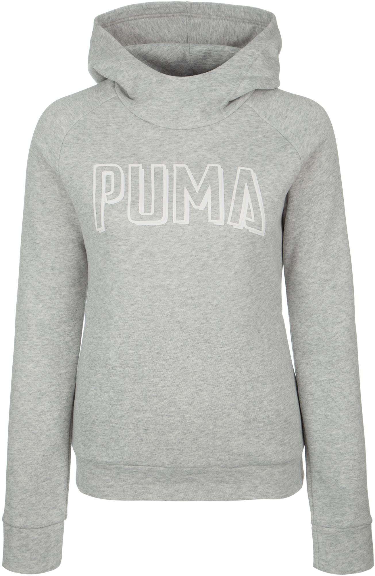 PUMA Худи женская Puma Athletics, размер 44-46 худи puma puma pu053ewamvy2